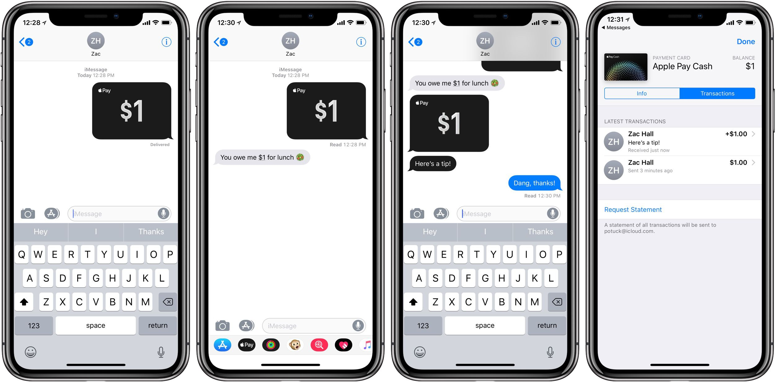 Apple Pay cash walkthrough 6