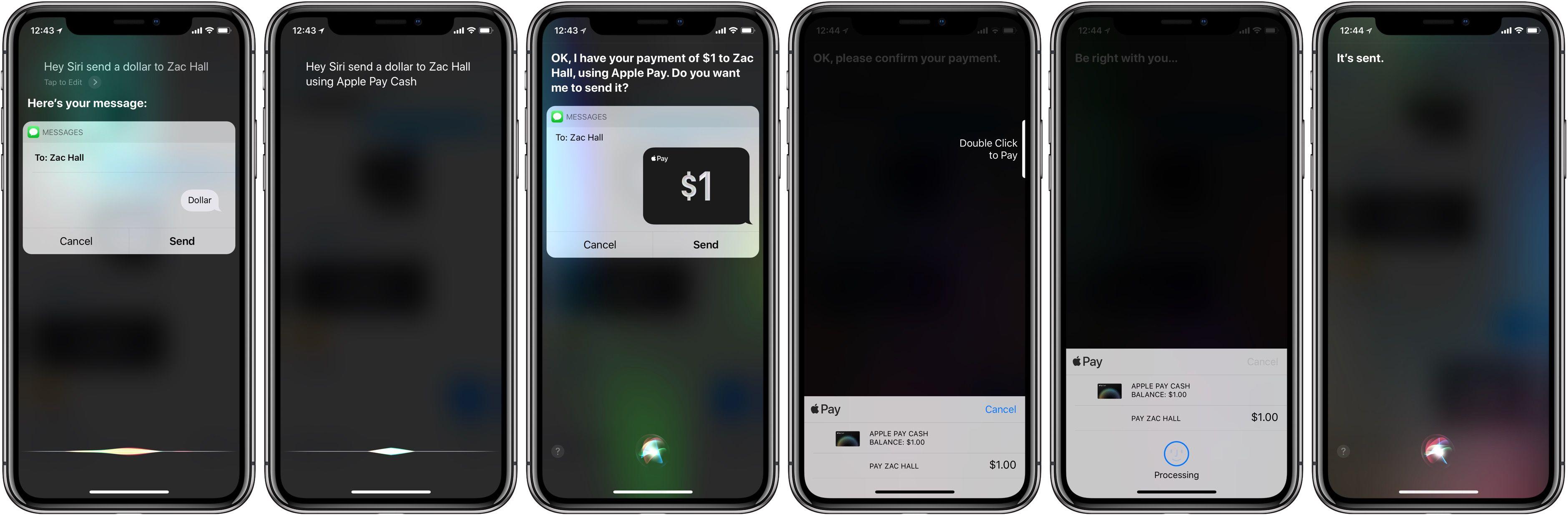 Apple Pay cash walkthrough 8