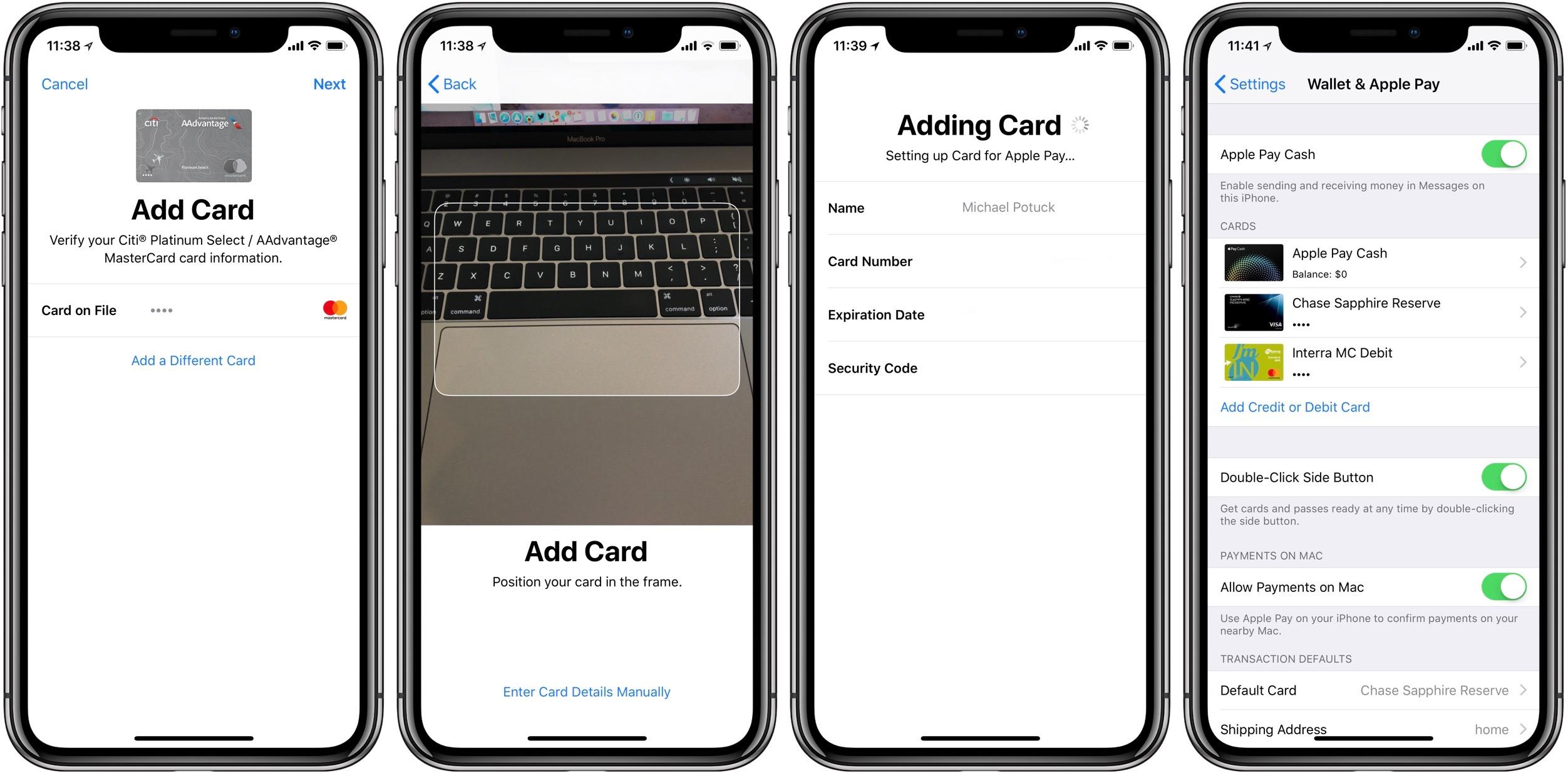 Apple Pay cash walkthrough 2