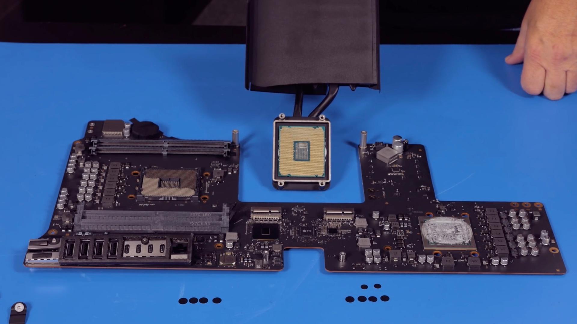 Base model iMac Pro teardown sheds more light on its upgrade