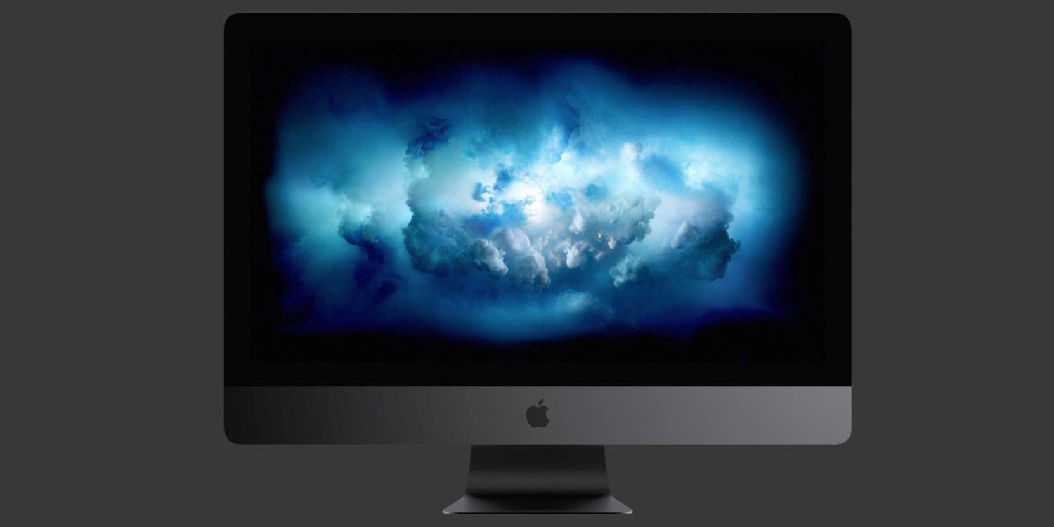 Download Apple Carplay >> iMac Pro includes a stormy new macOS desktop wallpaper, download it here for free | 9to5Mac
