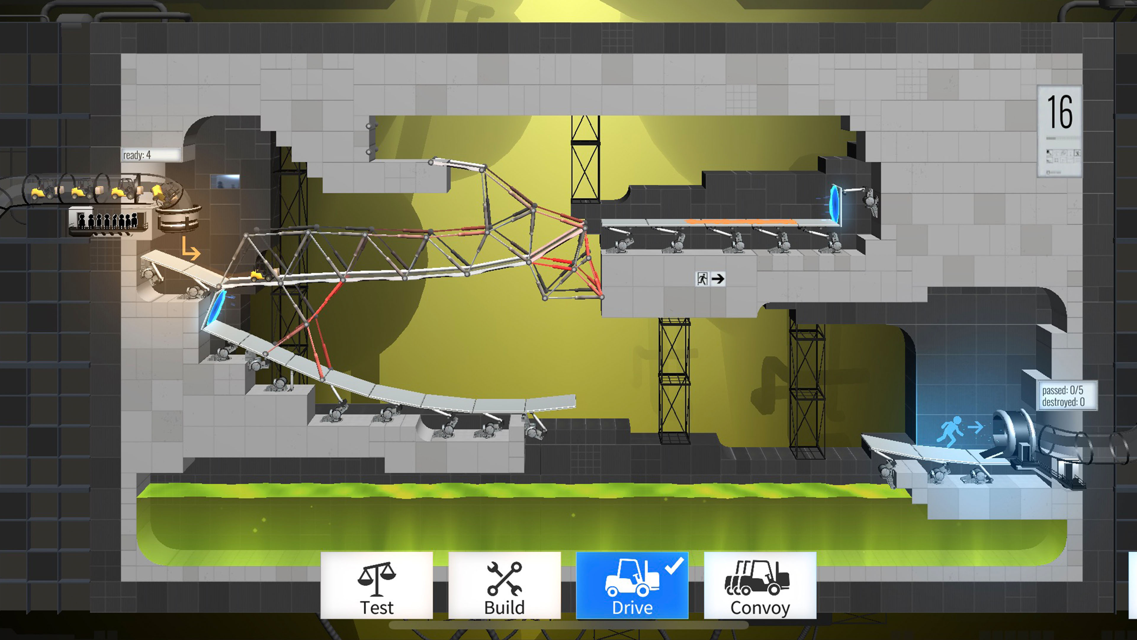 Review: Bridge Constructor Portal brings the fun of Valve's hit game to iOS in a clever way