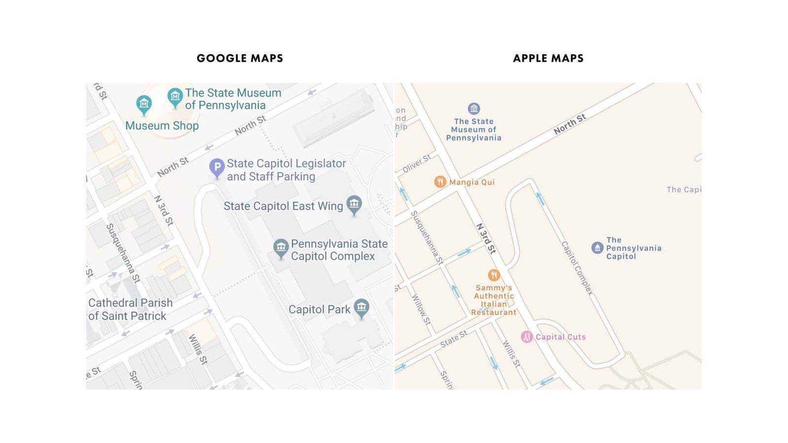 Image Result For Google Maps Over Time