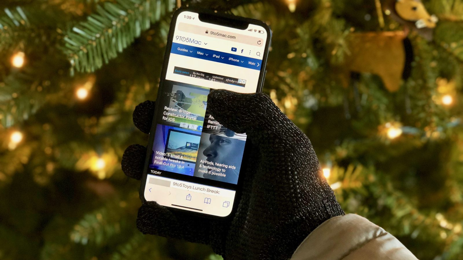 Review  Mujjo s Double Layer Touchscreen Gloves are warm 698acb2002f