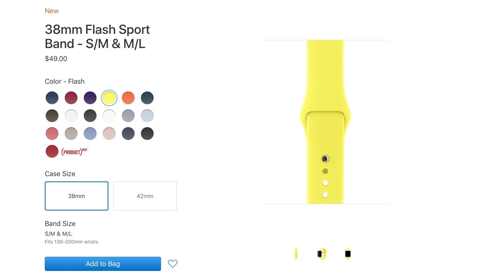 new concept 92701 f92c9 Apple releases new color choices for Apple Watch Sport Band & iPhone ...