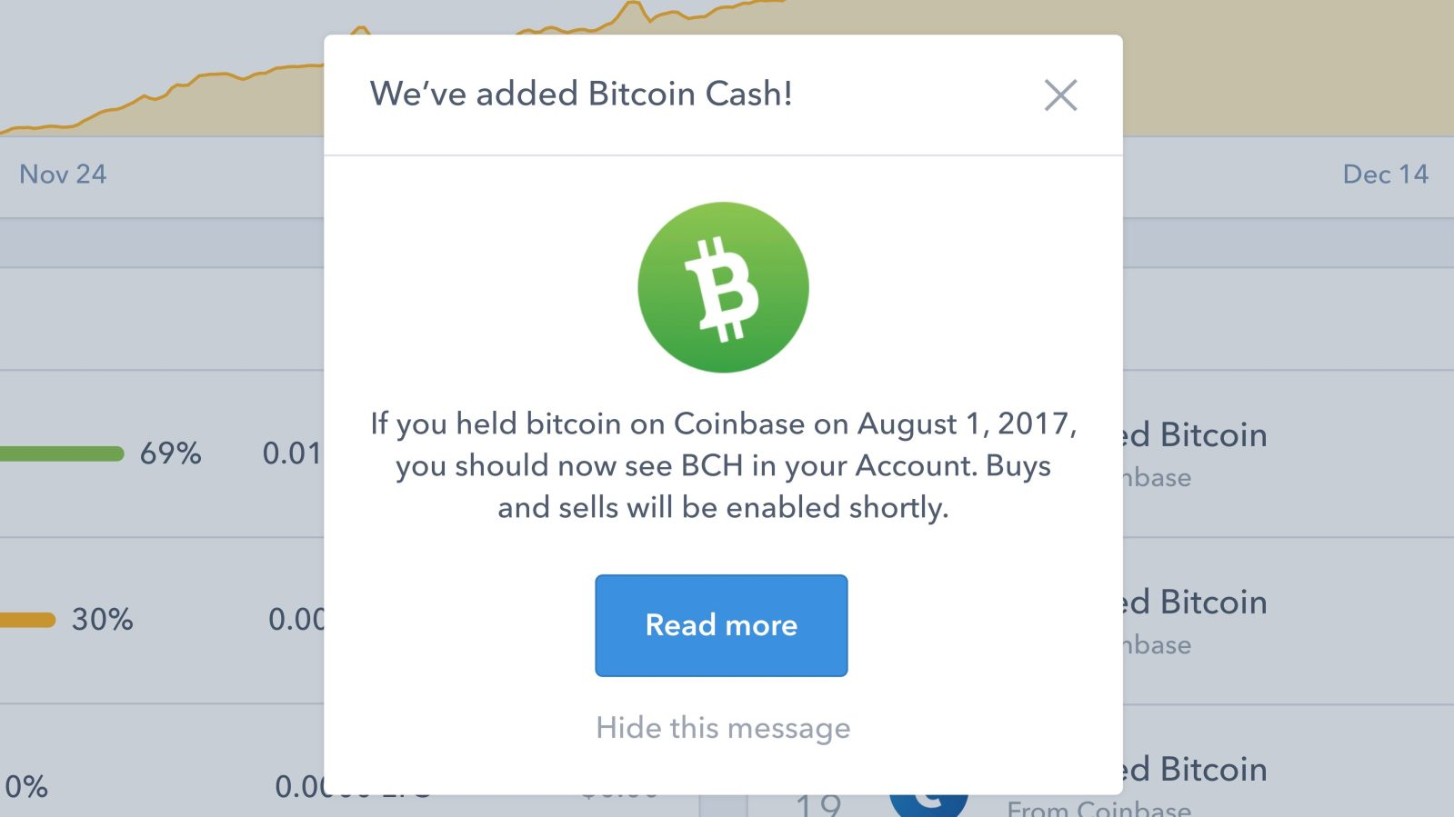 how do i cash out my bitcoin on coinbase