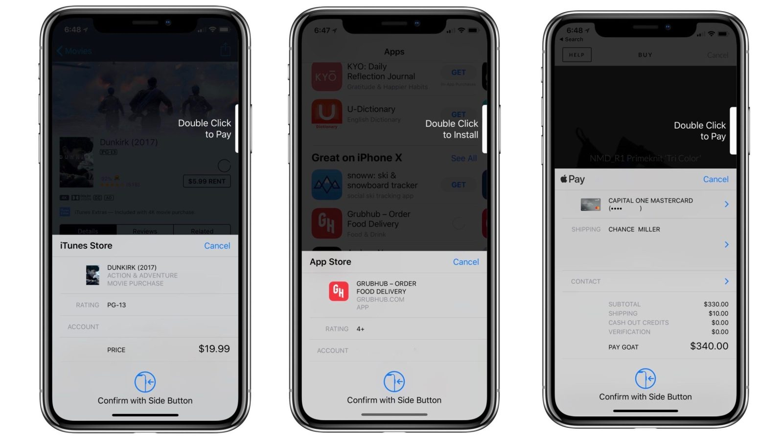 Ios 113 Simplifies Face Id Checkout On Iphone X W Clearer