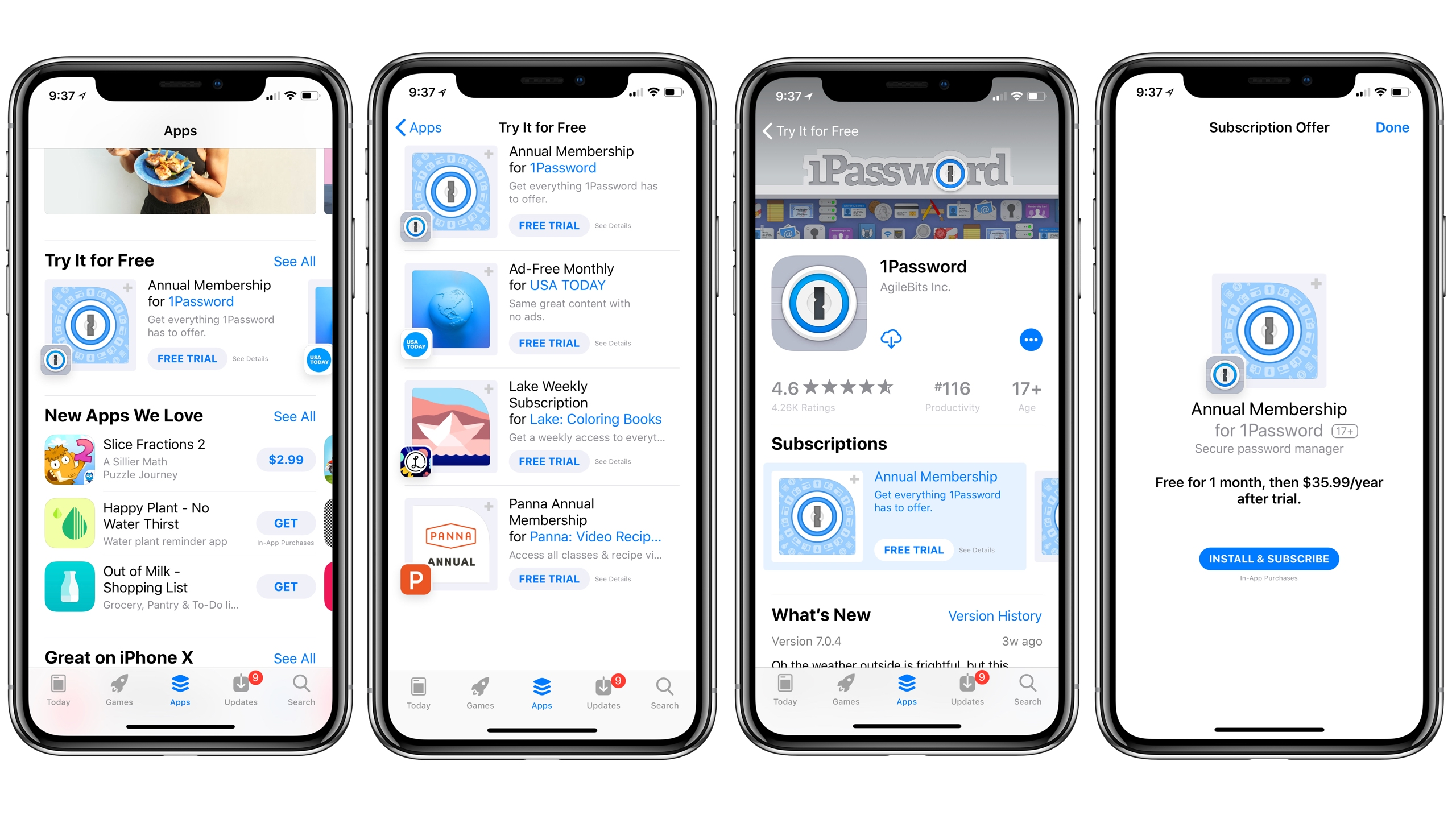 apple highlighting subscription apps w   free trials in new