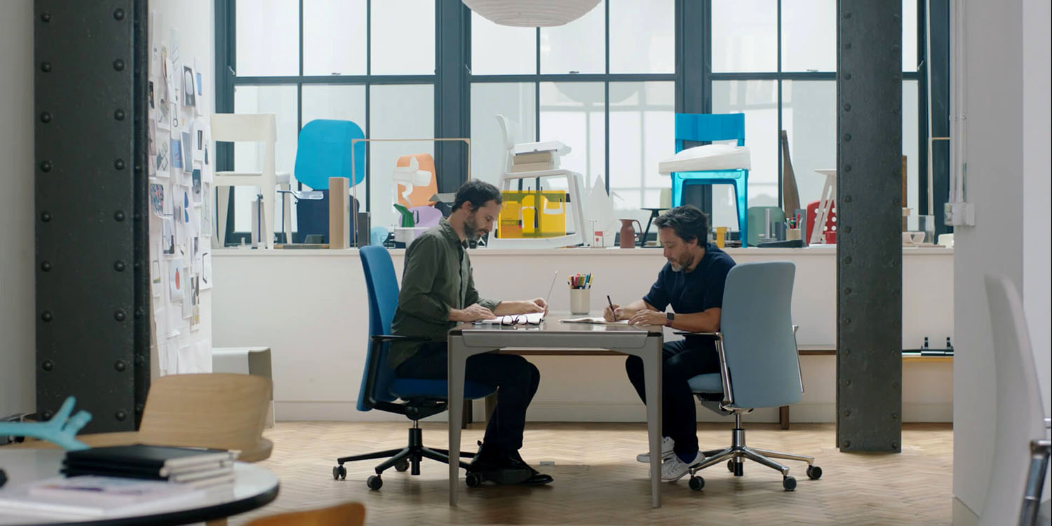 Apple new office design Drawing Fastco Explains Why Jony Ive Ordered This Office Chair For Every Workstation At Apple Park 9to5mac Fastco Explains Why Jony Ive Ordered This Office Chair For Every
