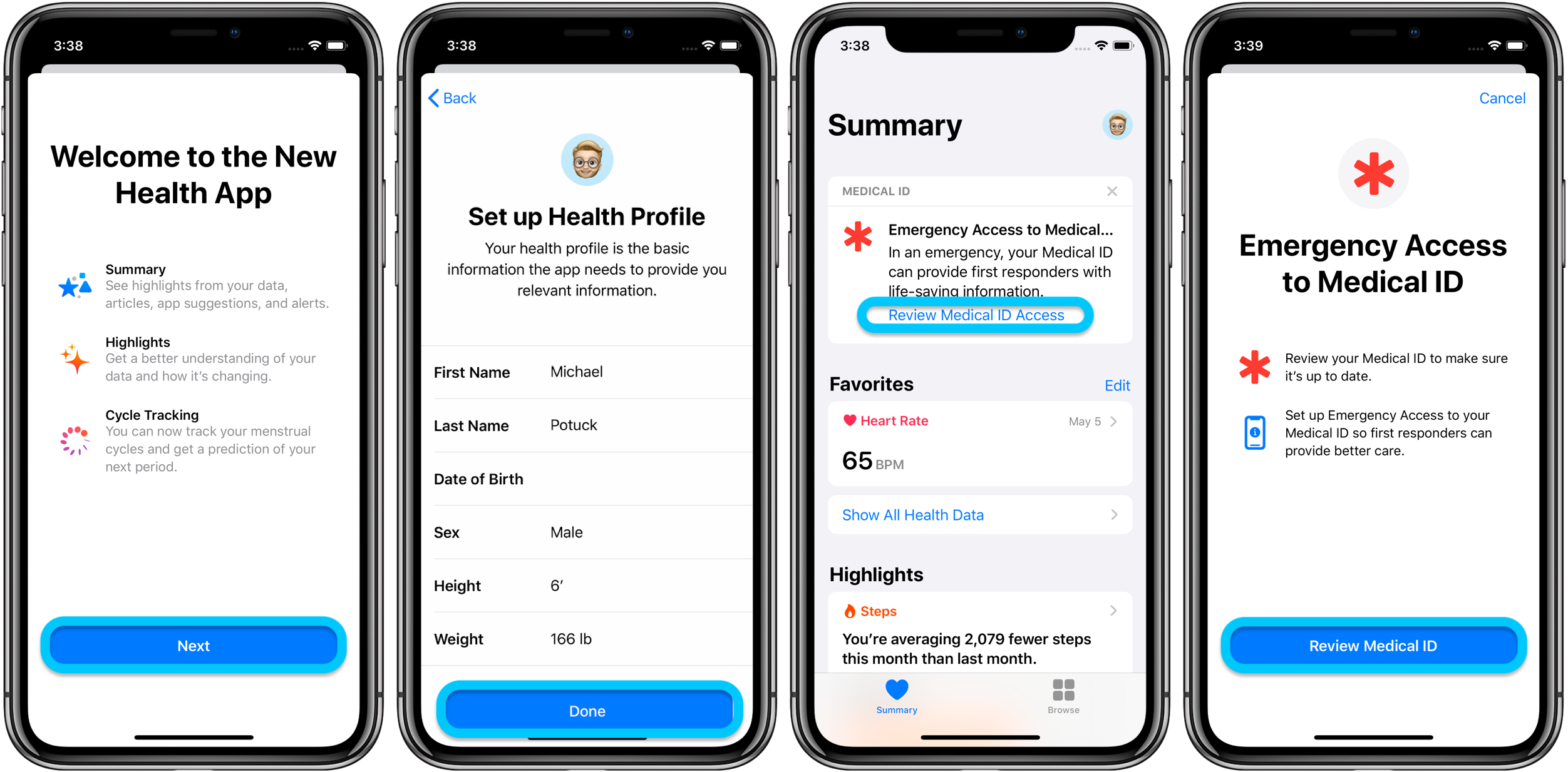 How to set up Medical ID iPhone Apple Watch