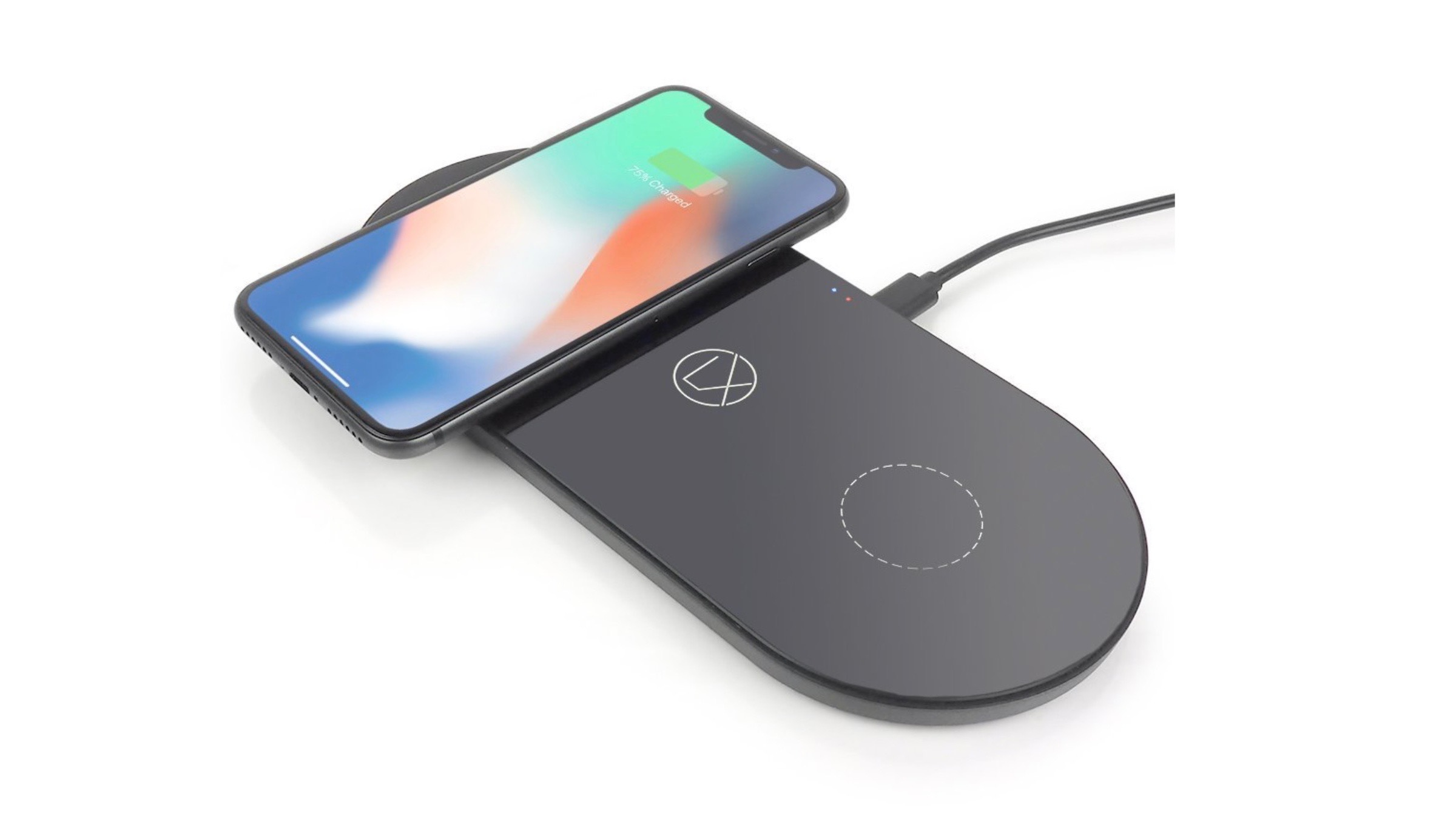 LXORY releases sharp USB-C/Lightning powered Qi dual wireless charger for iPhone
