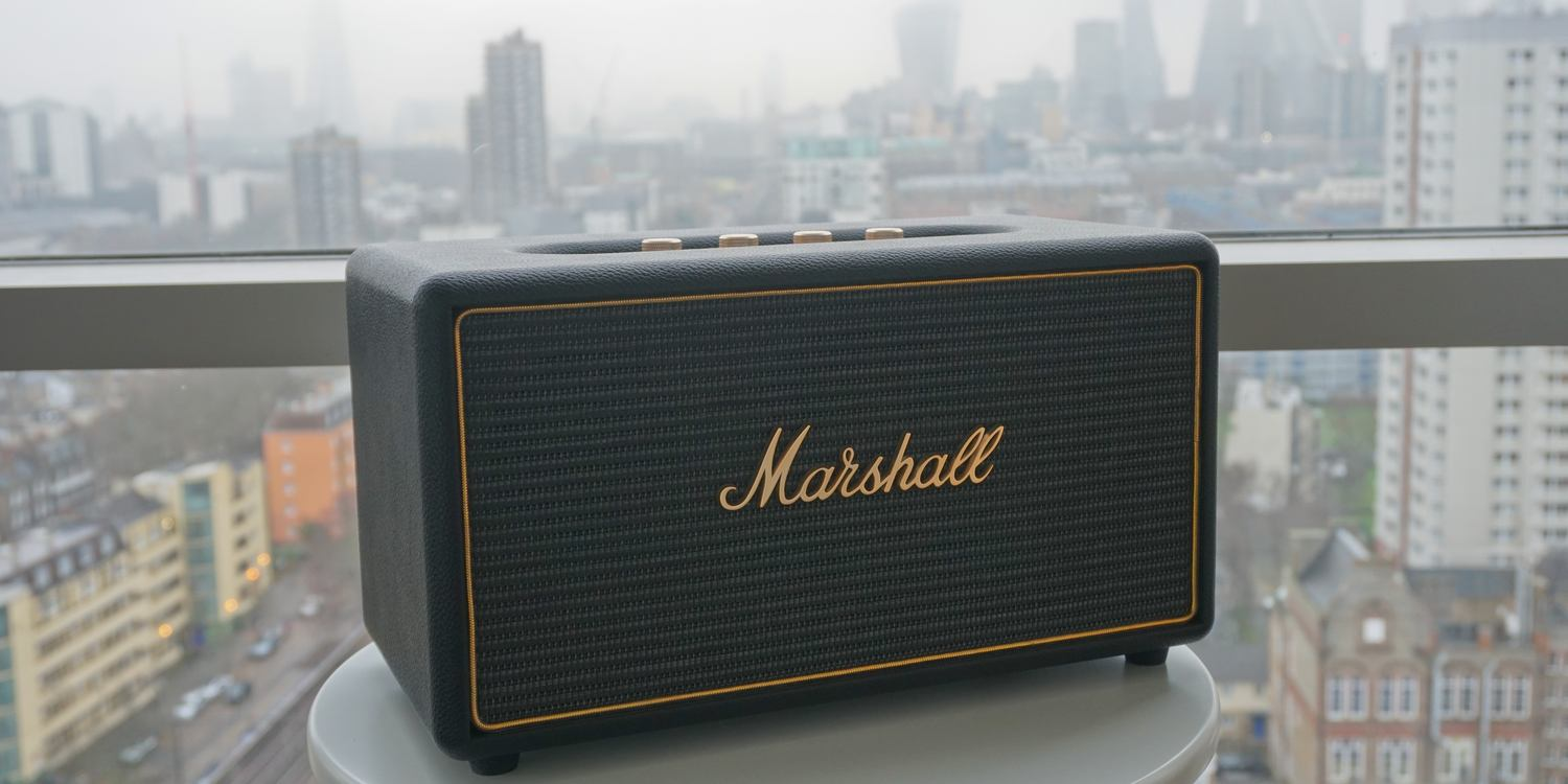 Review  Marshall Stanmore AirPlay speaker delivers firm s signature sound    looks 7ecdf869d2134