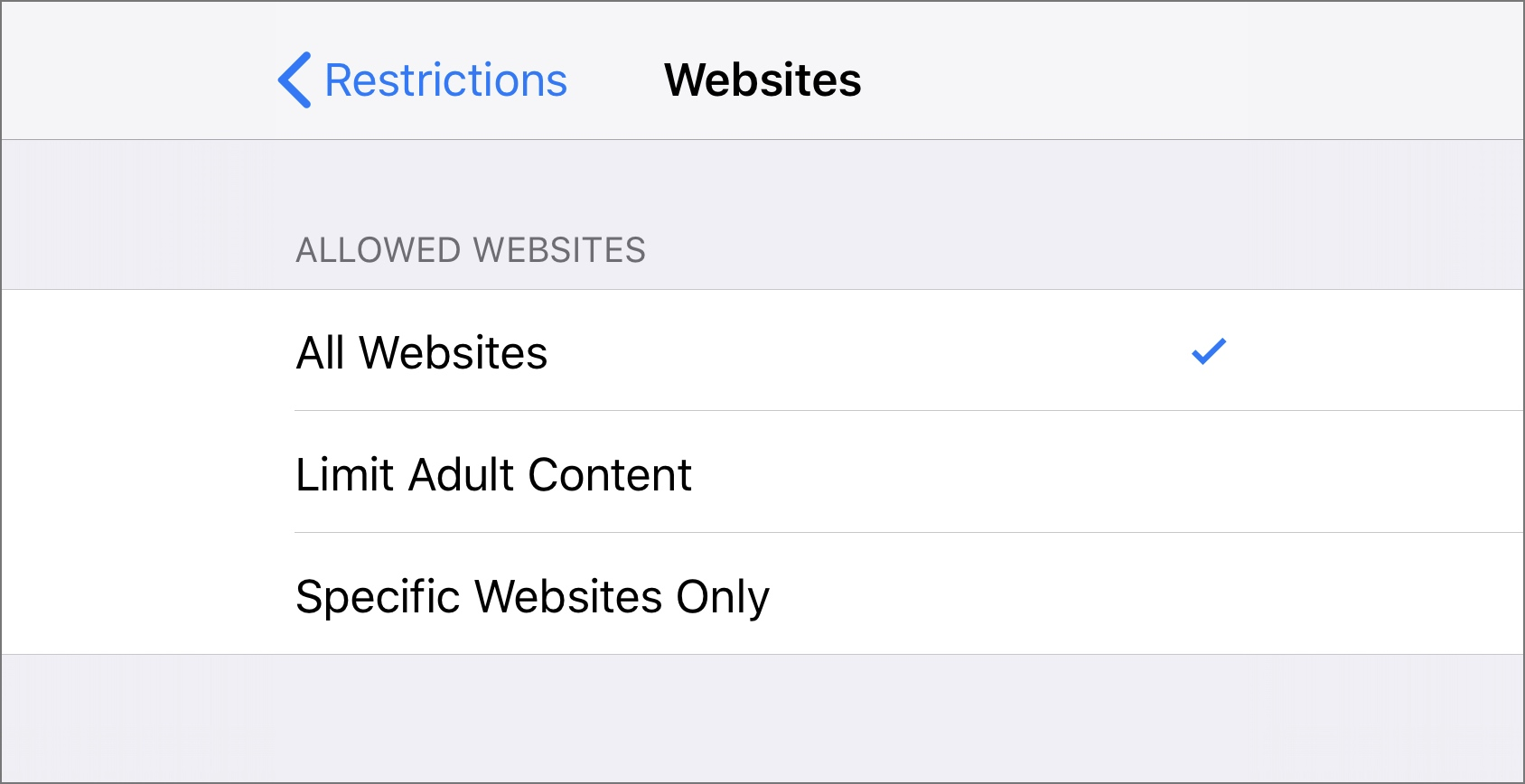 How to limit adult content and block private browsing in Safari on