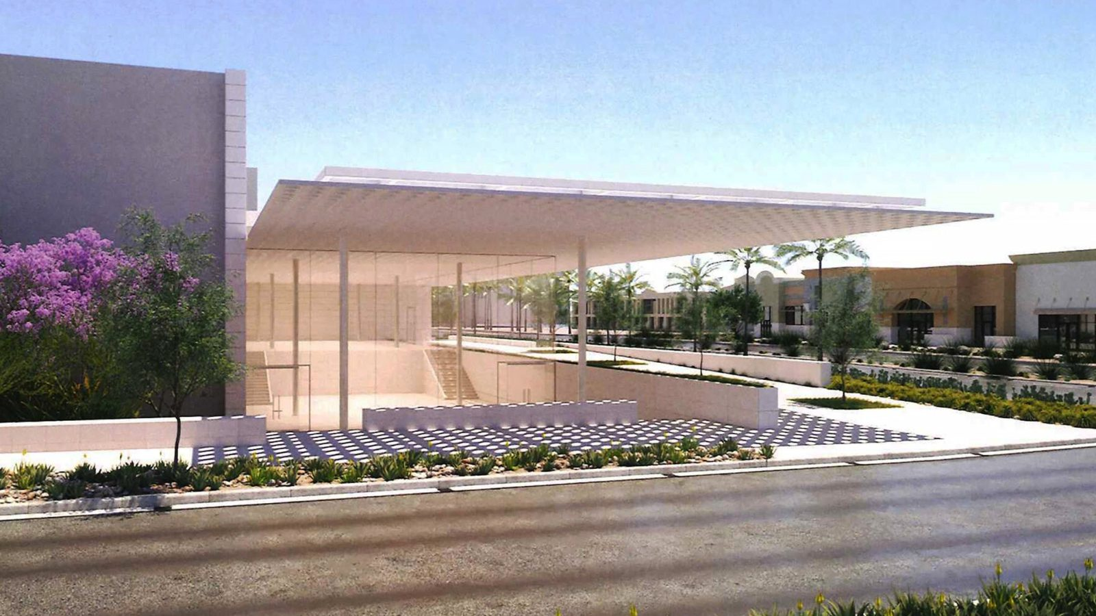 Scottsdale Fashion Square >> New Illustrations Show Apple S Plans For Striking New Retail