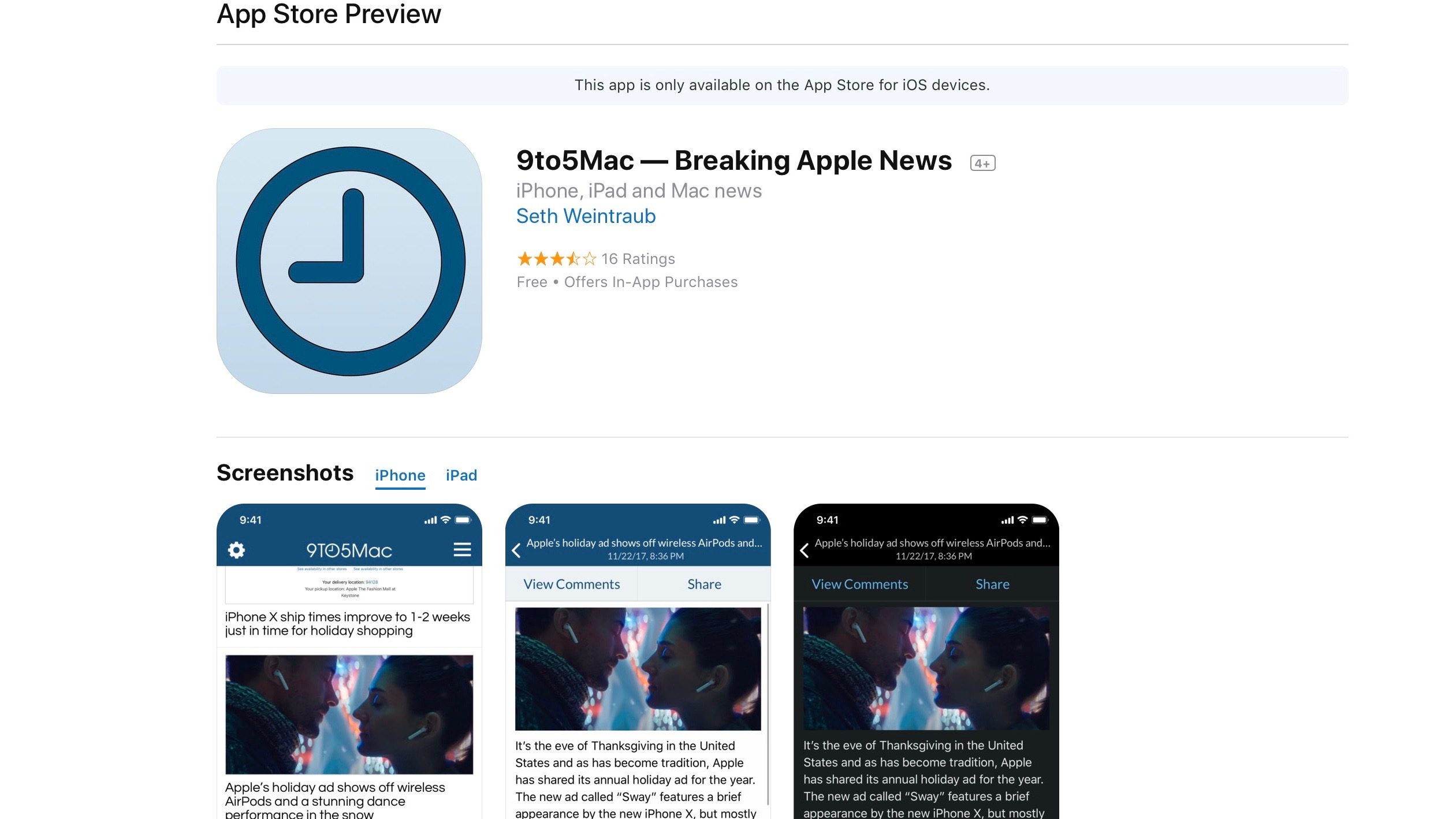 Apple Overhauls App Store Web Interface With New Ios Like Design 9to5mac
