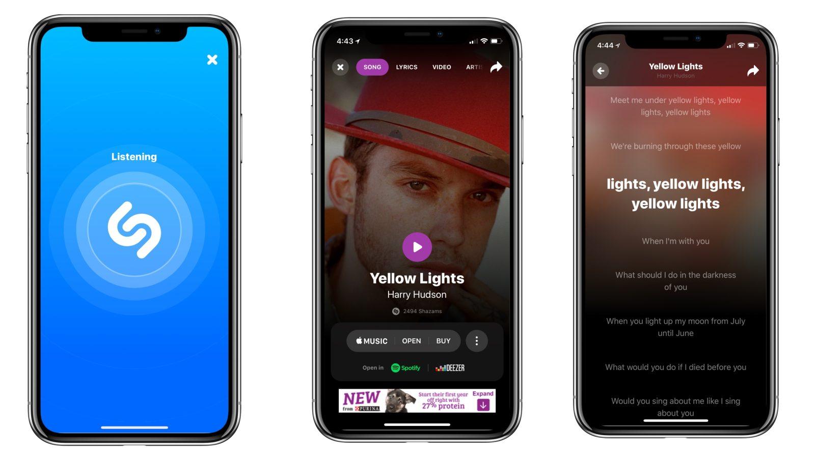 Shazam Update Brings Real Time Lyrics Syncing Interface Tweaks