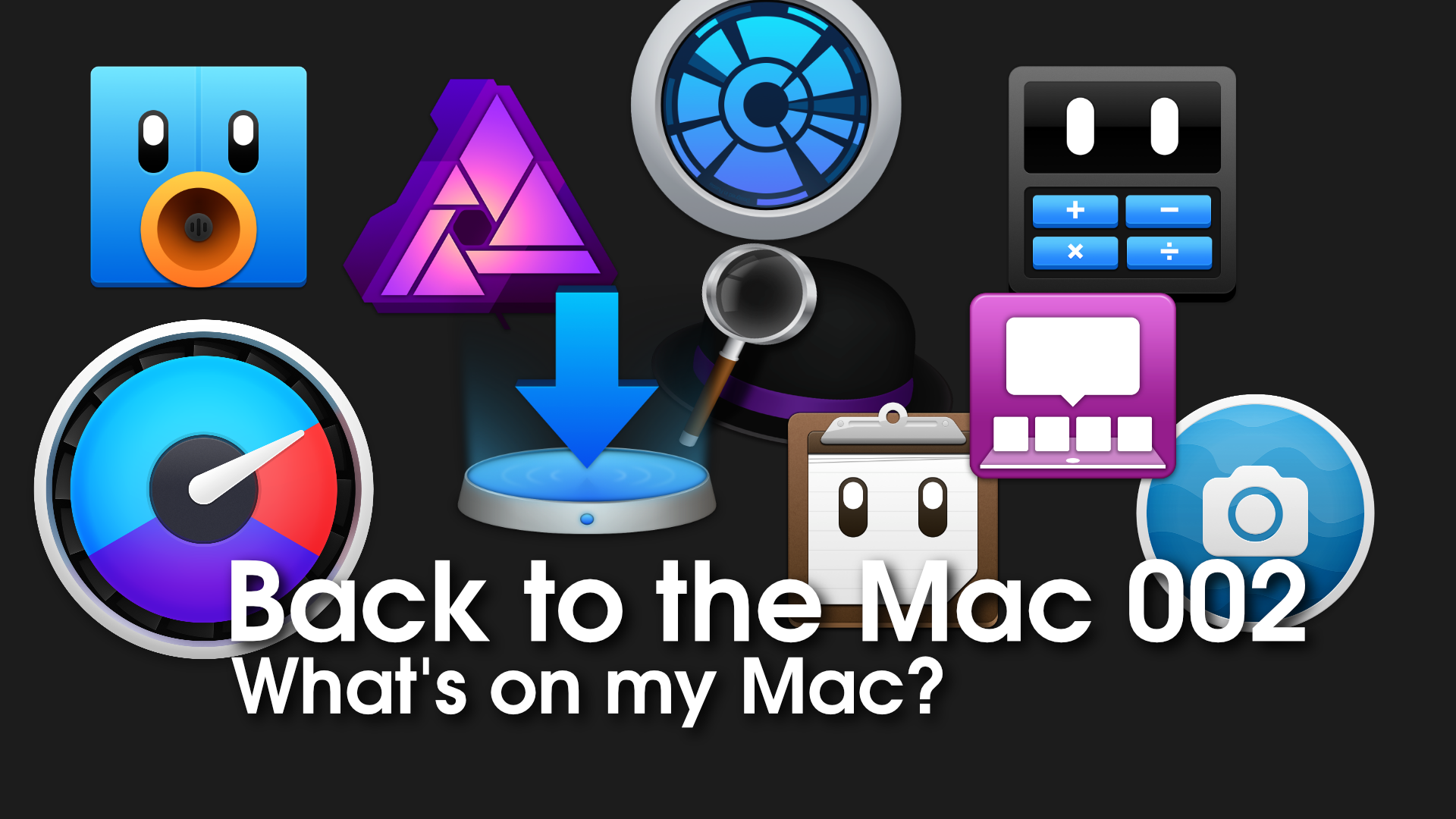 Back to the Mac 002: The apps that power my macOS workflow