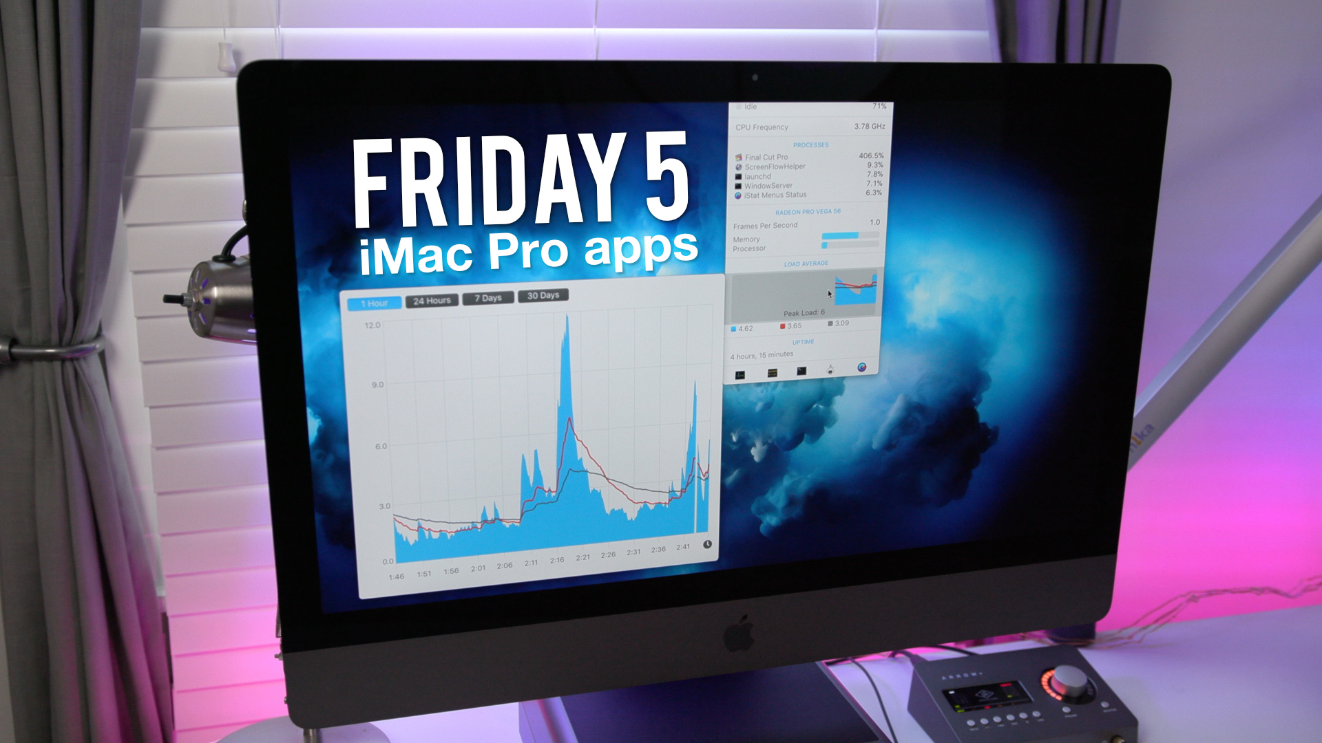 Friday 5: Favorite apps for iMac Pro [Video]