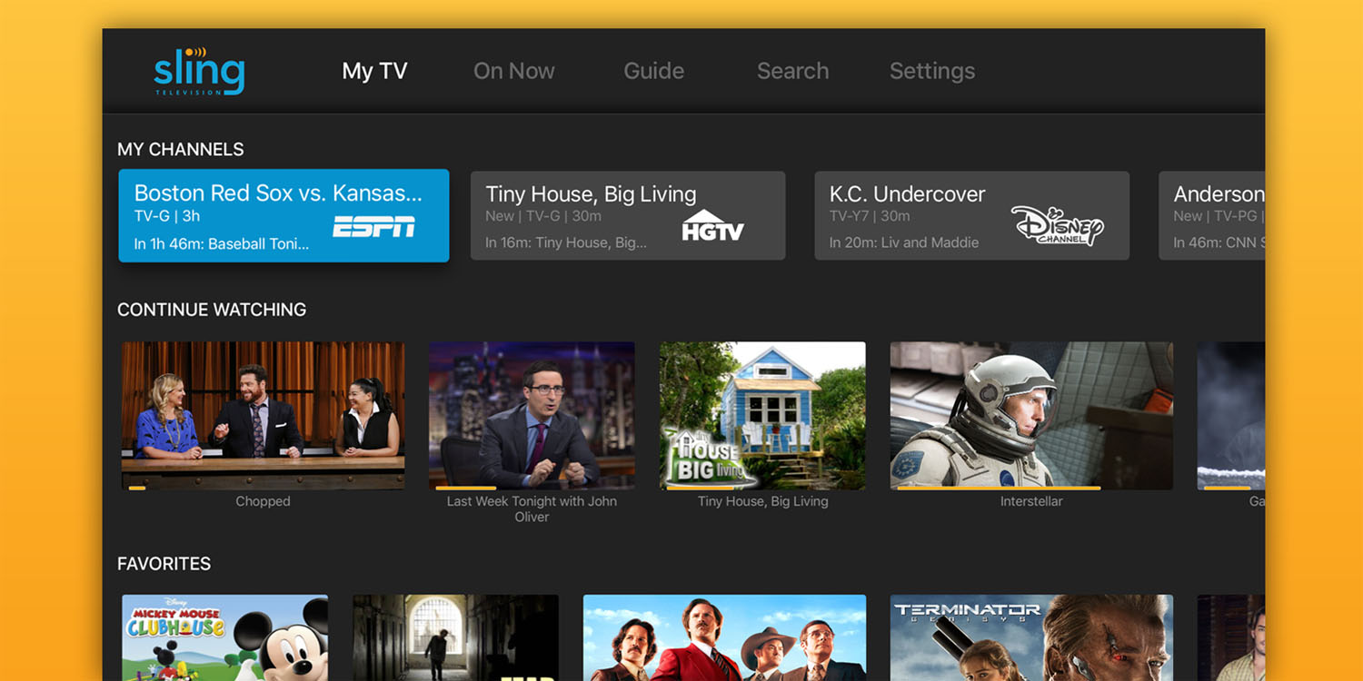 Sling TV officially adds support for streaming in Safari for macOS