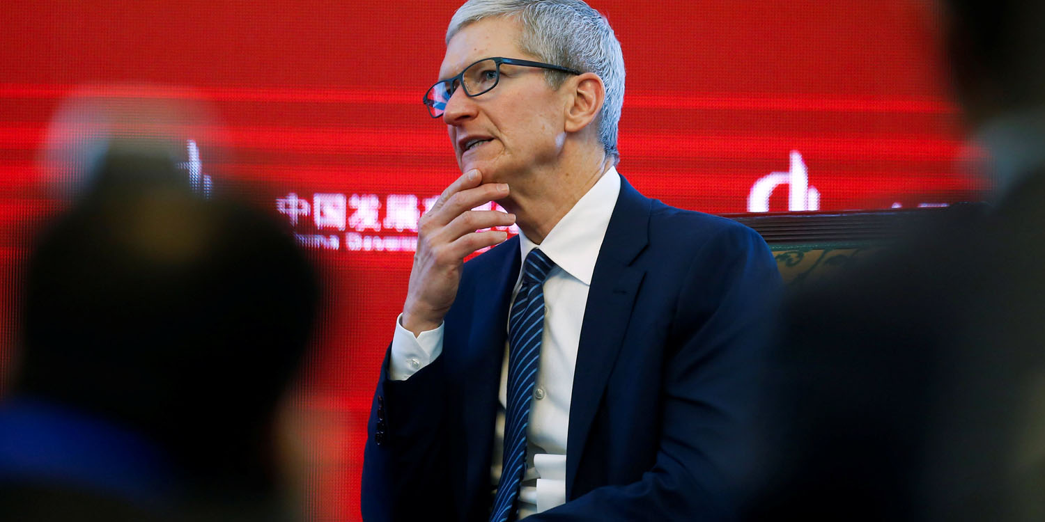 "photo of Tim Cook on Apple lowering iPhone prices in China: ""We'll see how that works out for us"" image"