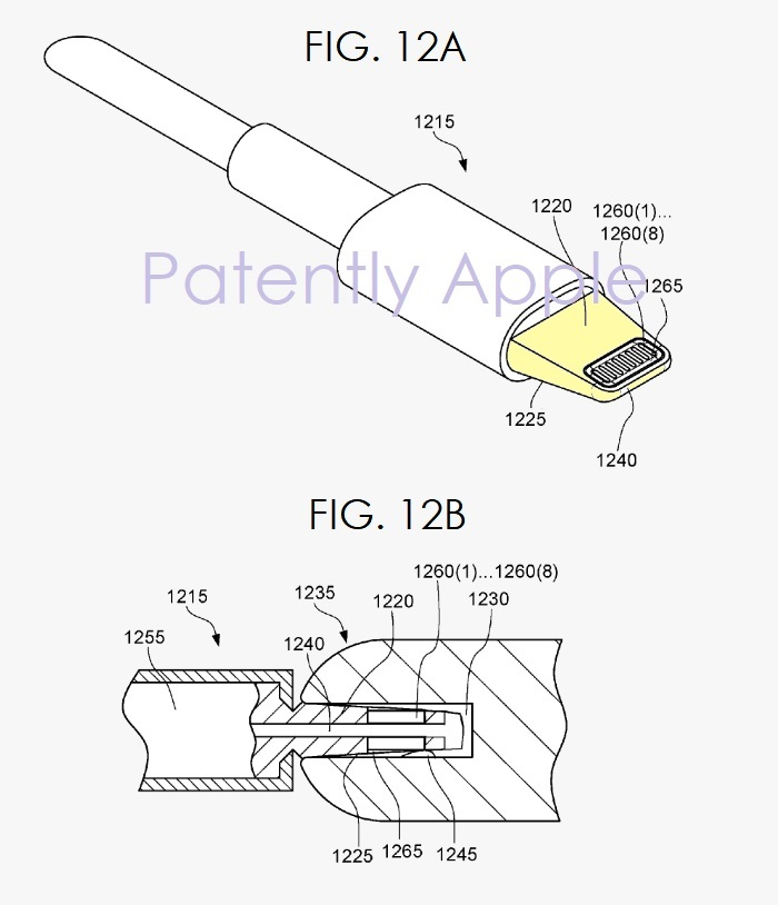 Patent Suggests Next Generation Lightning Connector With Waterproof