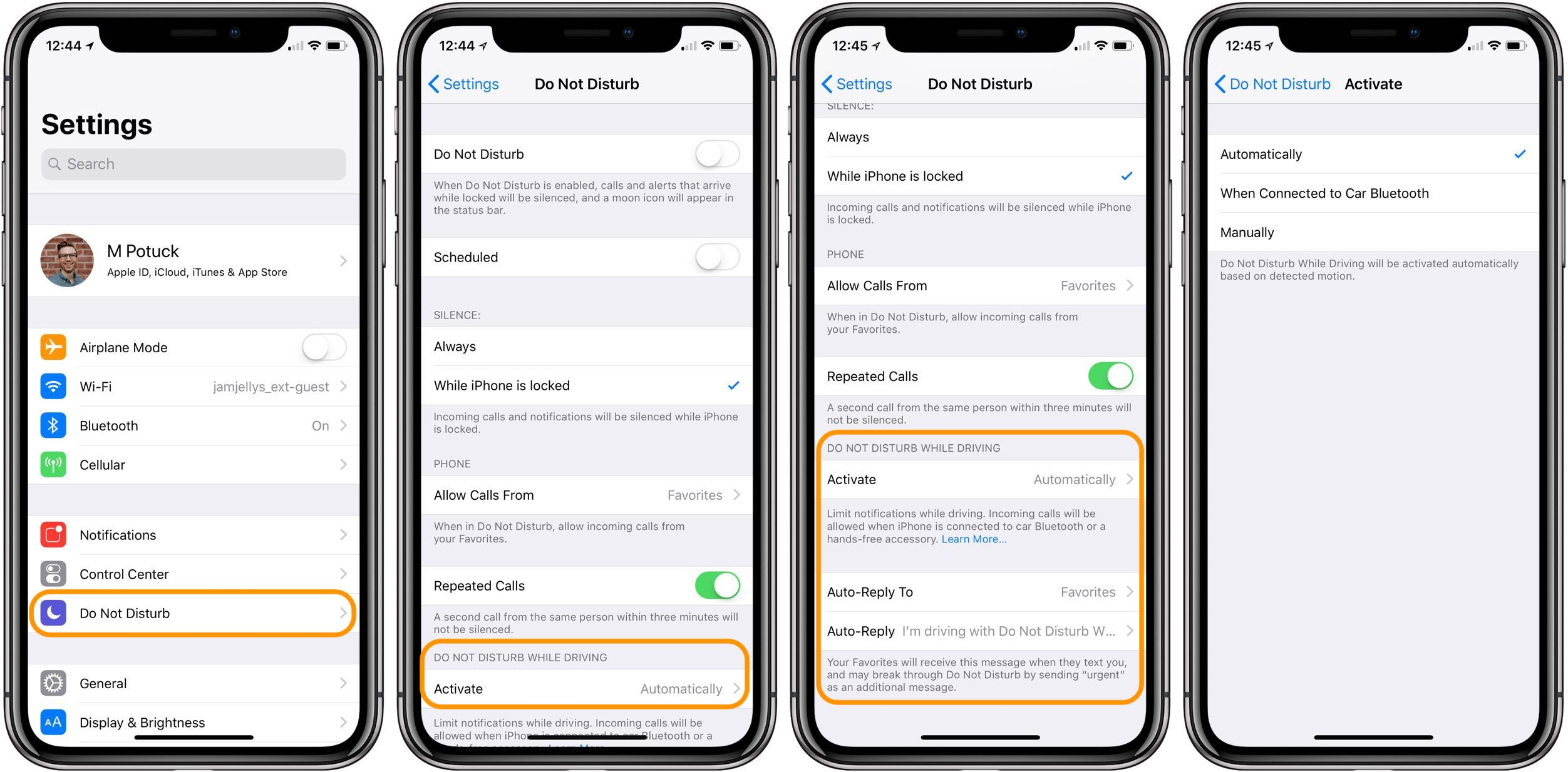 Jumping up - How to use Do Not Disturb While Driving in iOS 11
