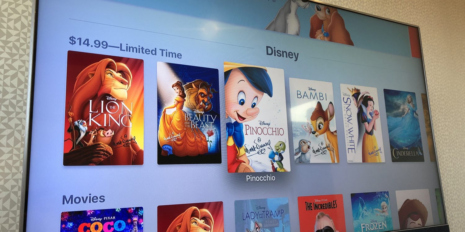 Disney Plus to include 'entire Disney motion picture library
