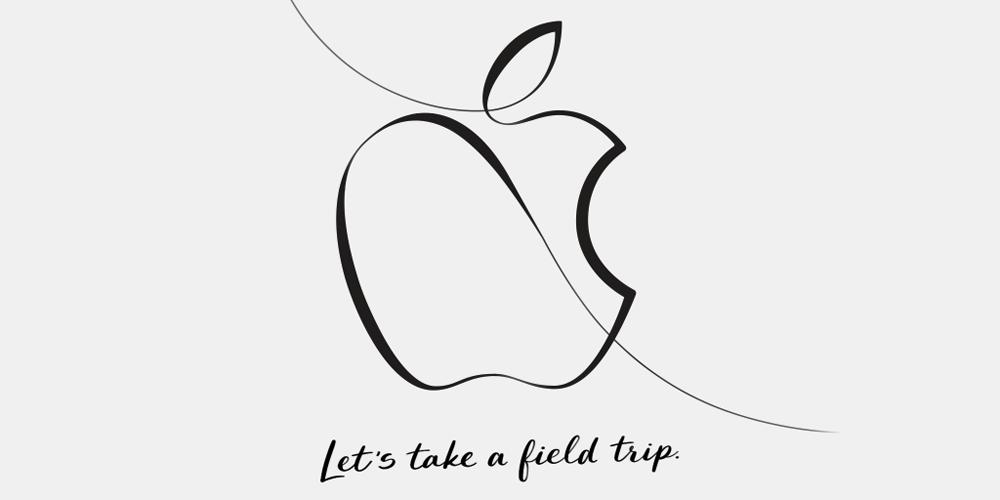 Apple announces creative education event on March 27
