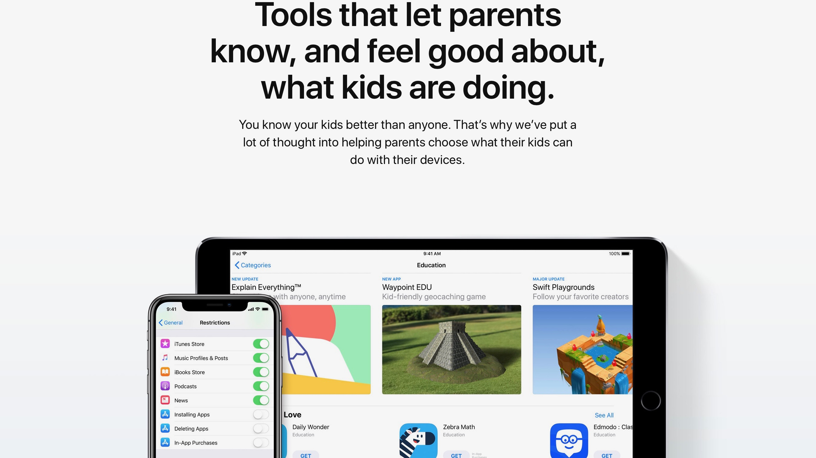 Apple publishes new 'Families' webpage with parental control tips & tricks