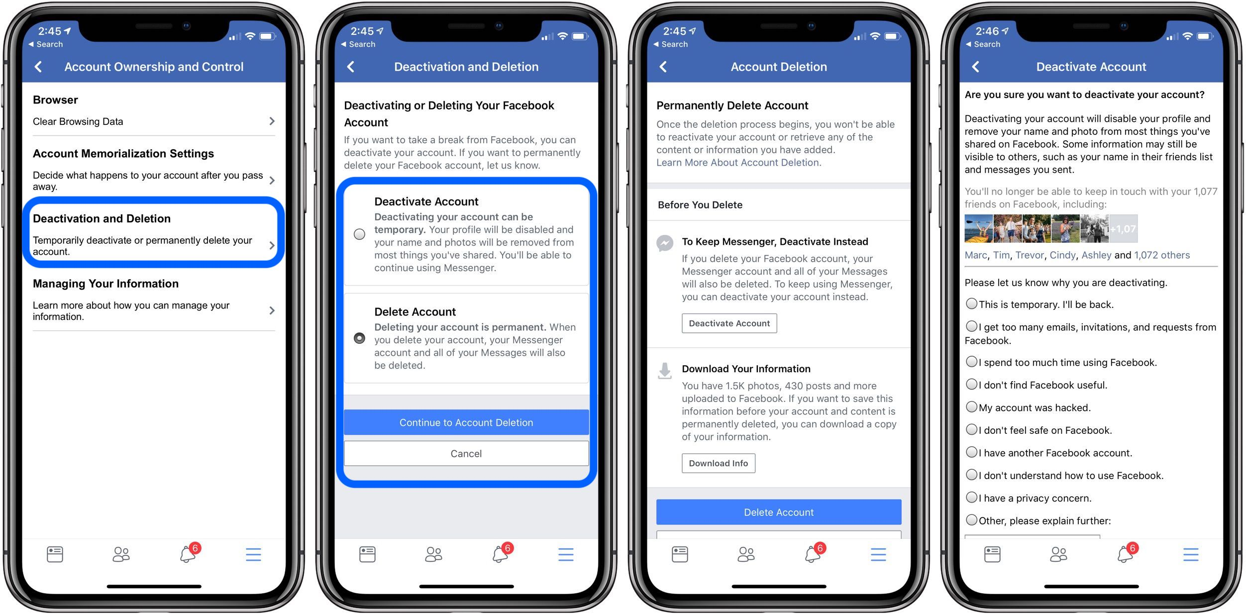How to deactivate or delete your Facebook account - 9to5Mac