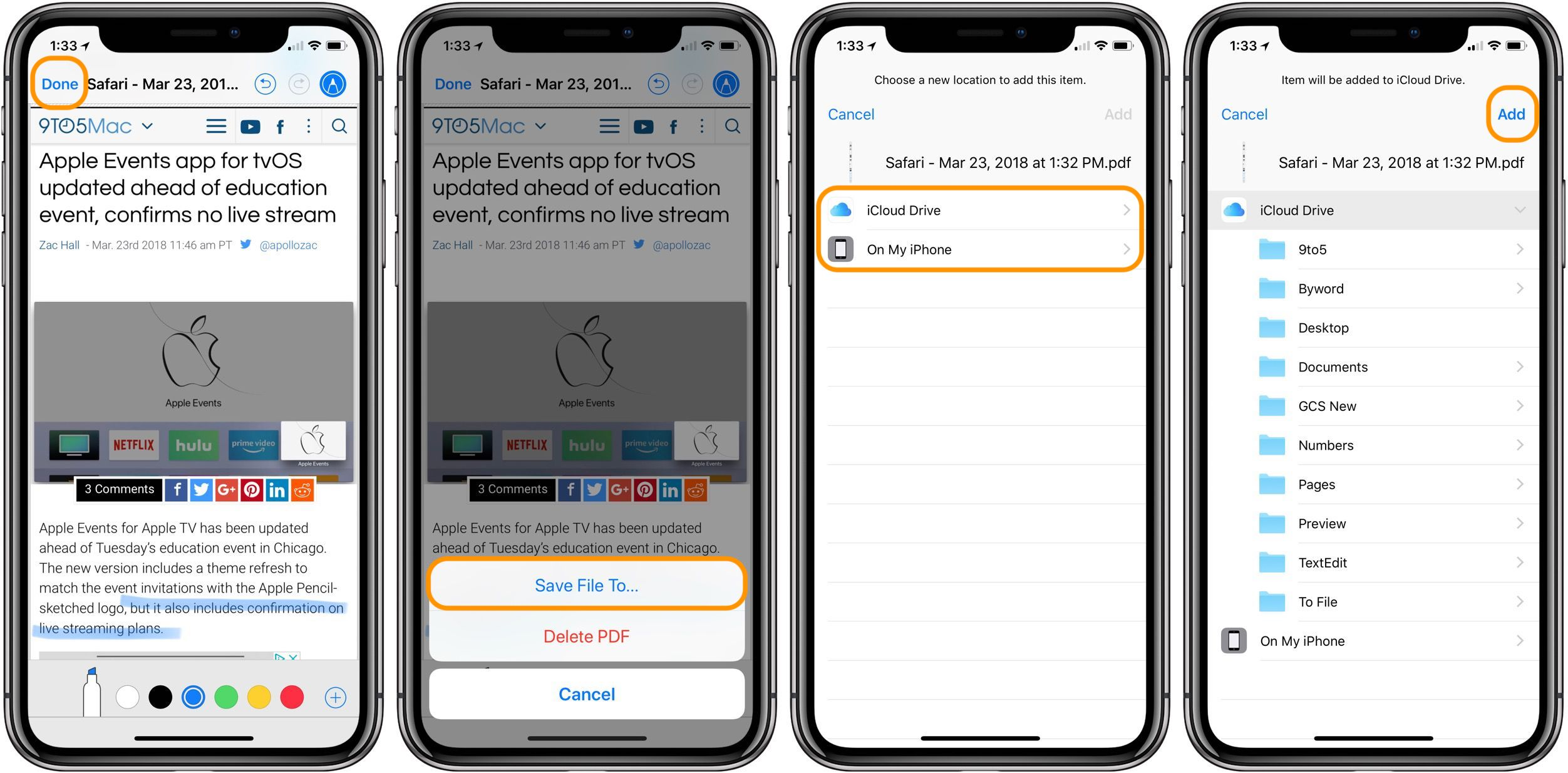 How to save webpages as PDFs and annotate on iPhone & iPad