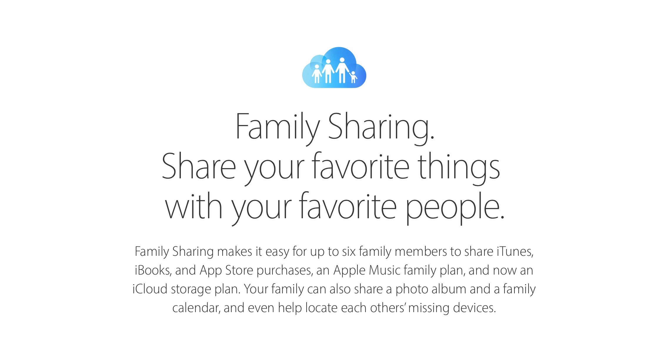 How To Share One ICloud Storage Plan With Your Whole Family