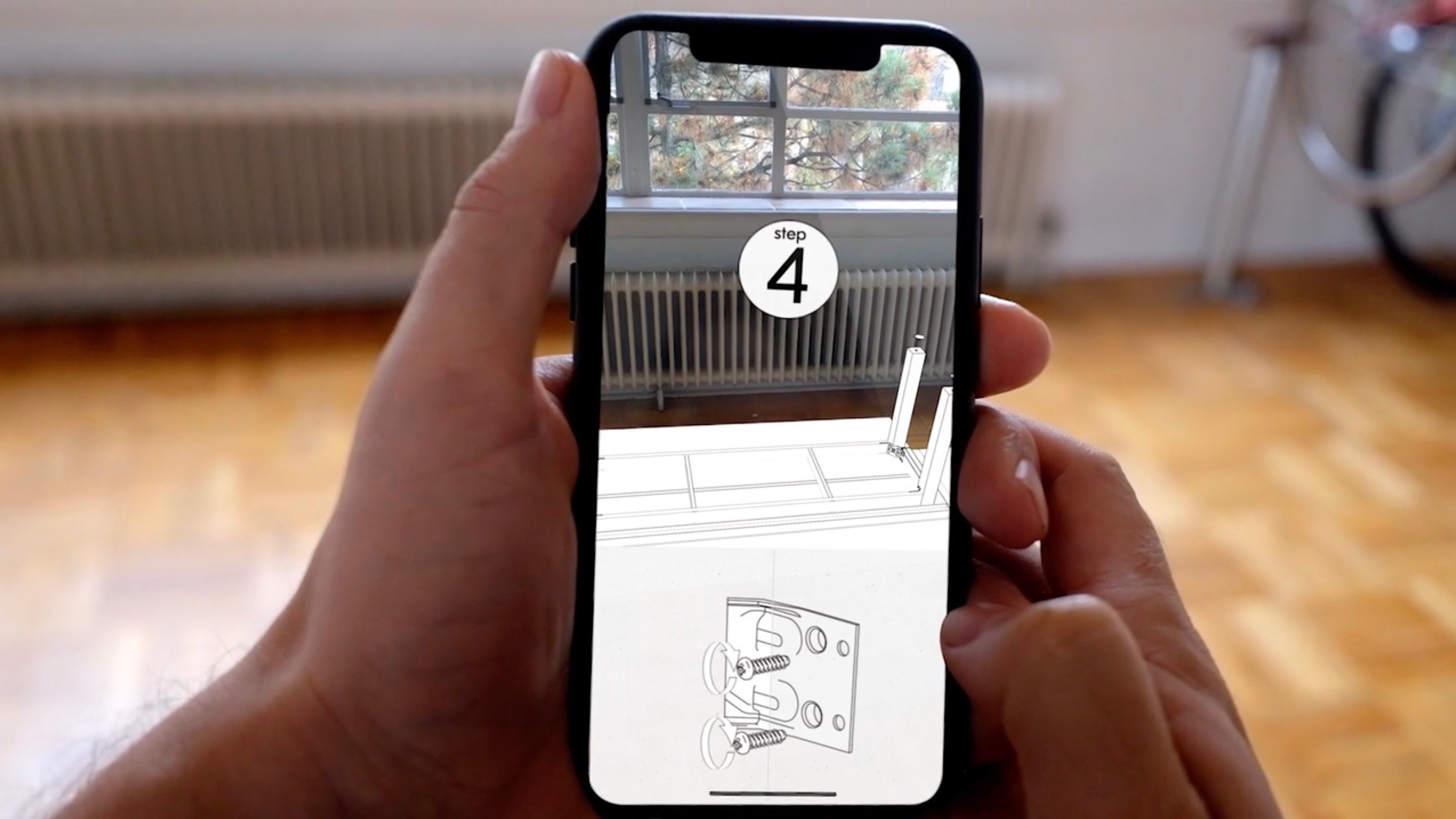 AR app turns your iPhone X into a useful IKEA furniture instruction manual [Video]