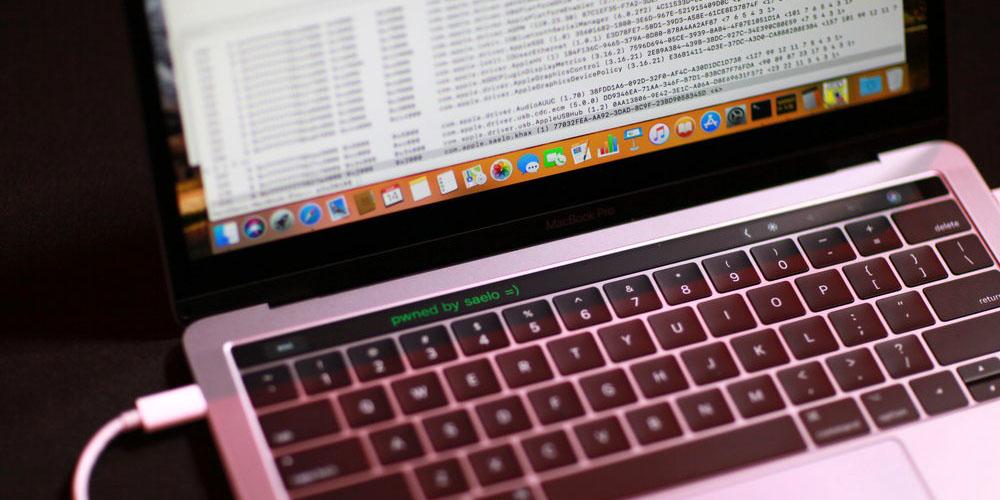 Safari hack allows control of Touch Bar
