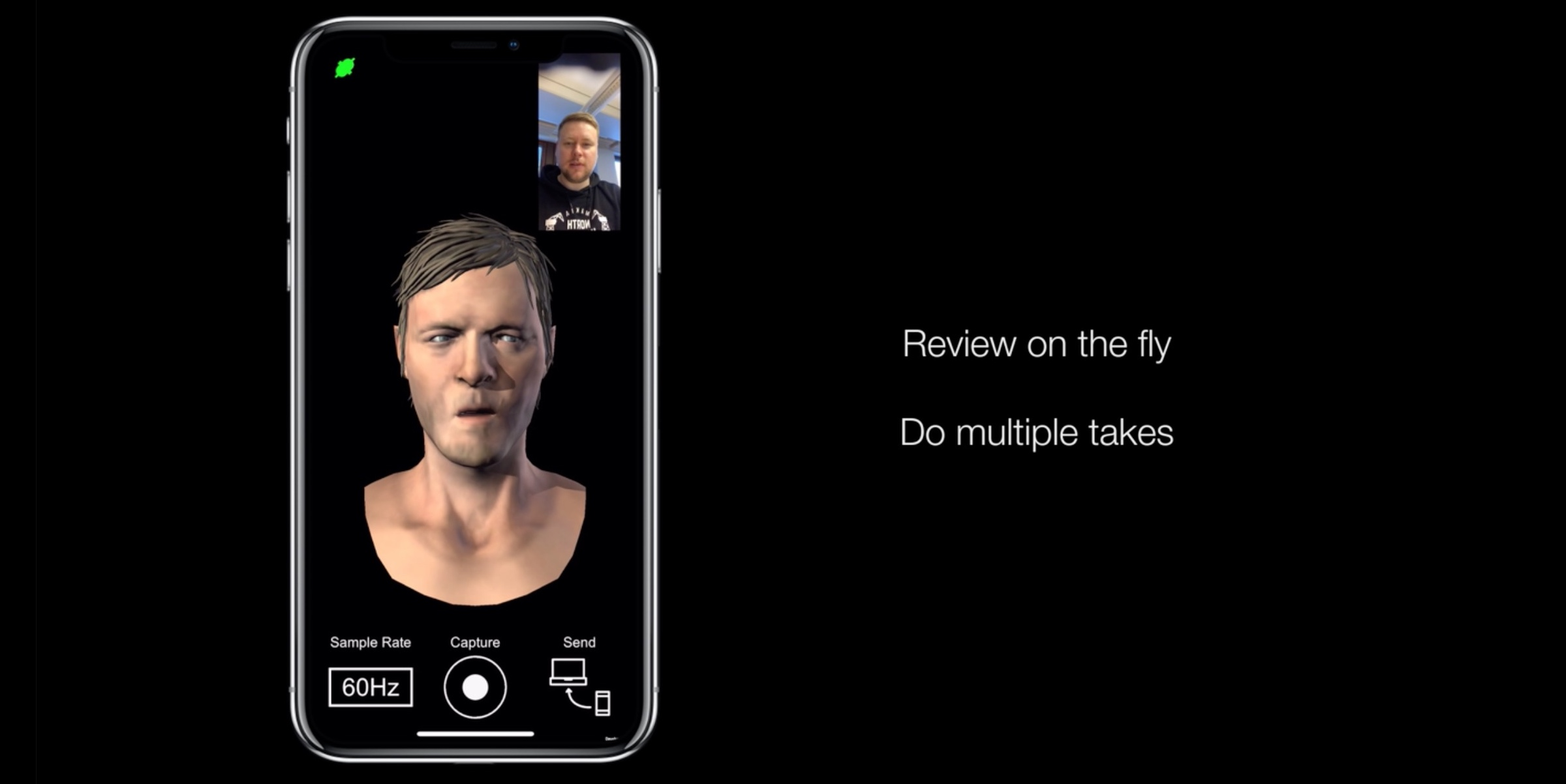 The Walking Dead mobile game developer using iPhone X