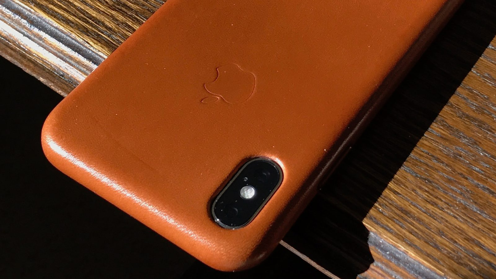 new concept bc30b 192c0 How well has your iPhone X leather case held up to long-term use ...