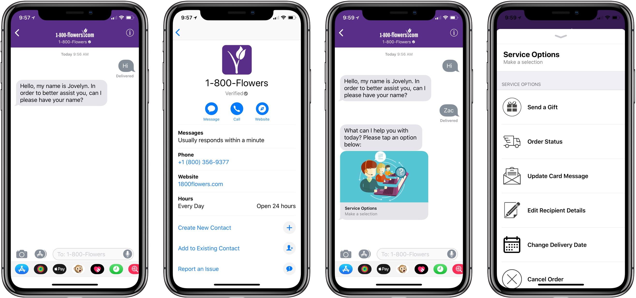 Hands-on with Business Chat for iMessage in iOS 11 3 and