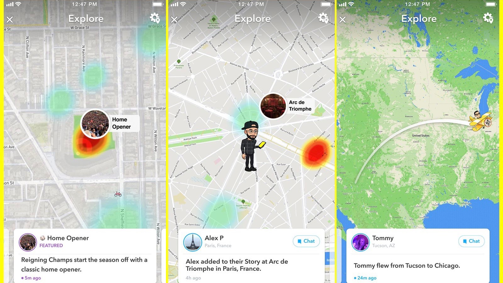 Snapchat adding new 'Map Explore' feature to make it even easier to