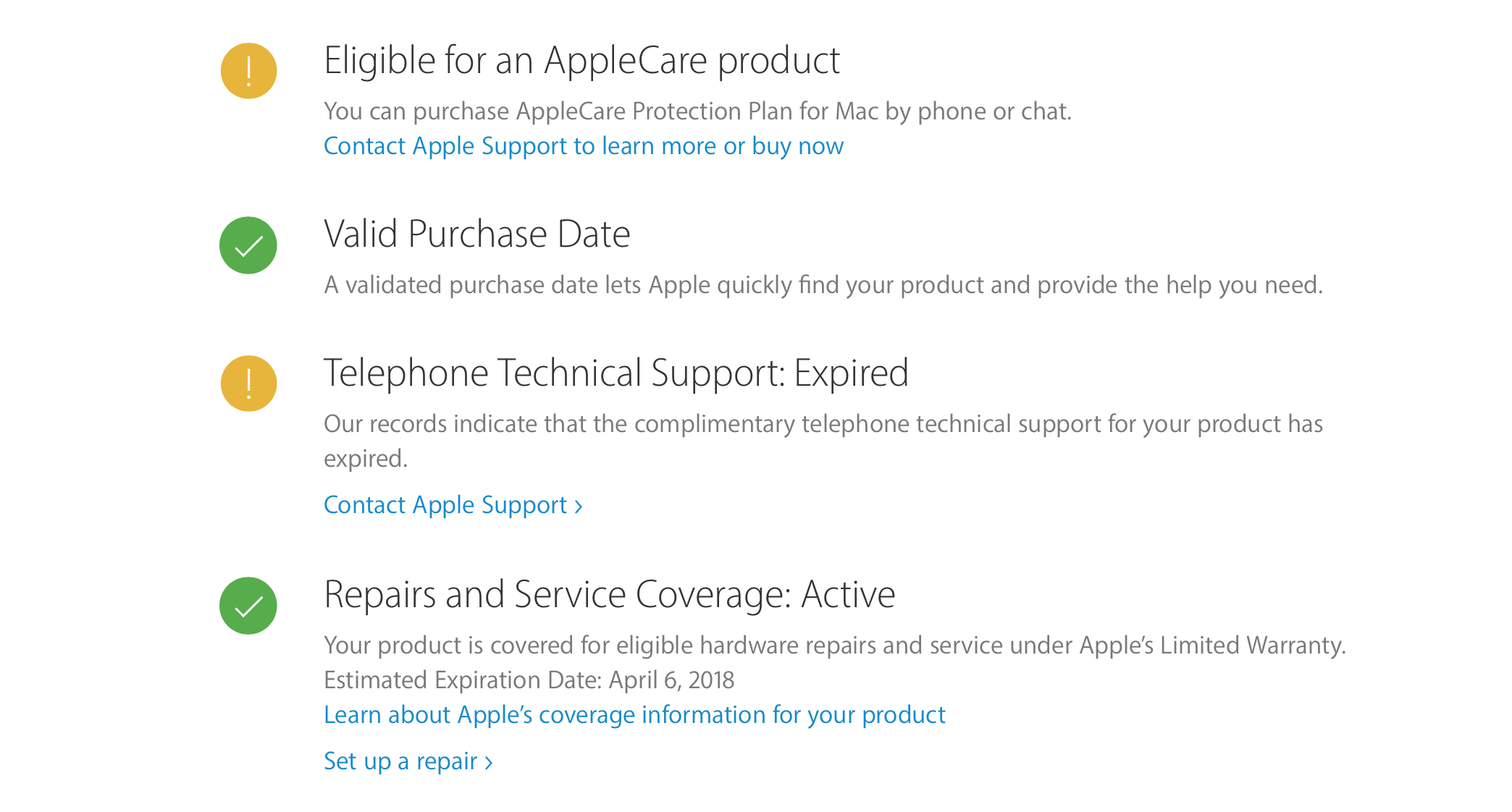 apple serial number check activation date
