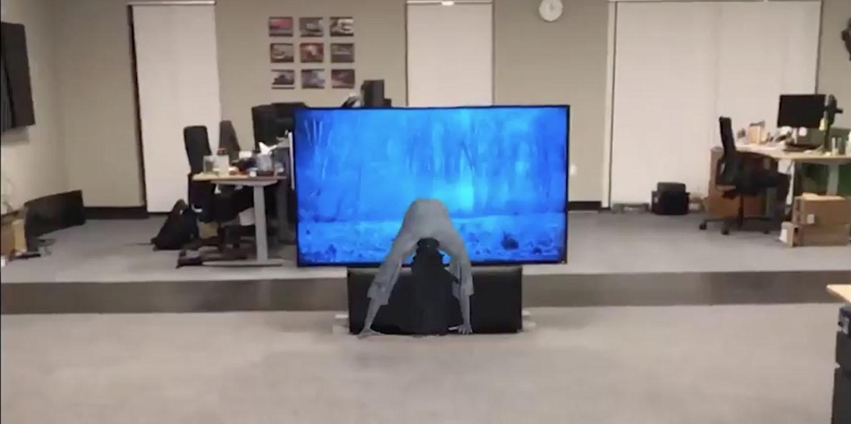 Developer behind AR Super Mario creates creepy ARKit version