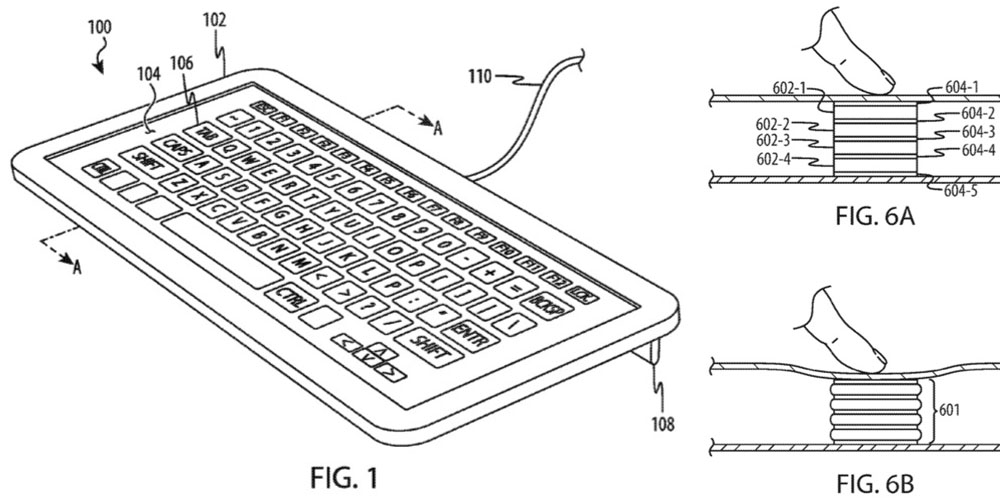 Apple patent describes three ways to make a screen-based