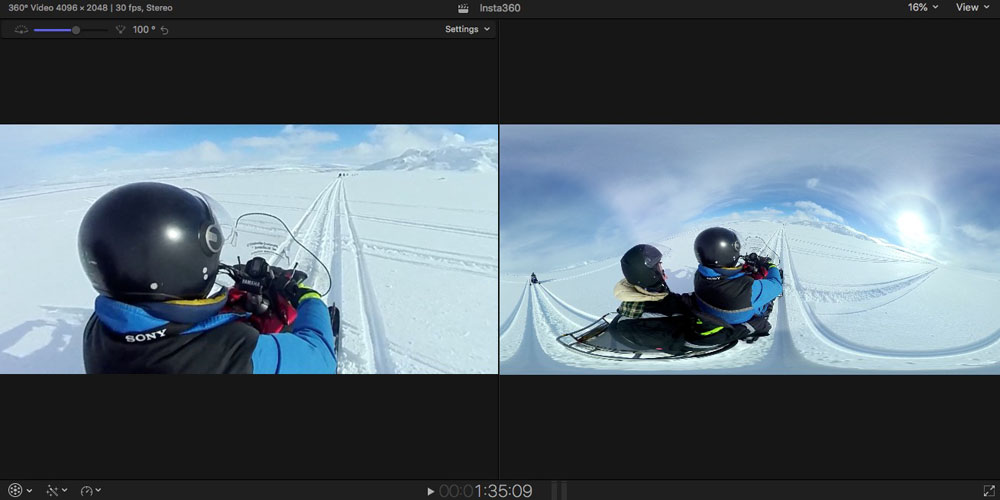 Final Cut Pro Diary Working With 360 Degree Video Is Surprisingly