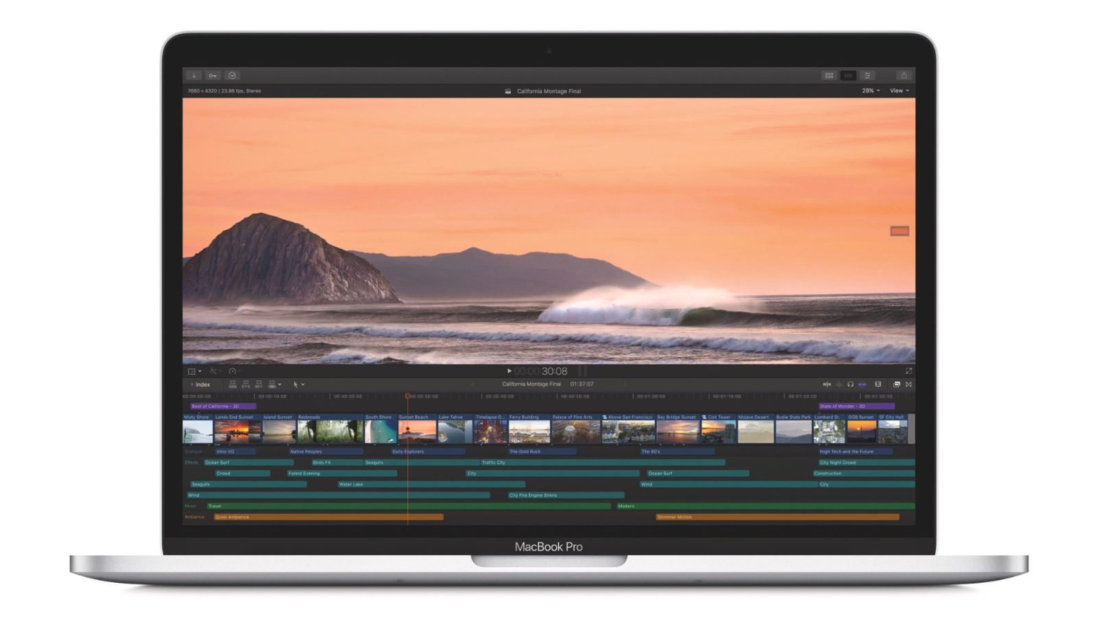 Final Cut Pro 10 4 1 with closed captioning toolset and ProRes RAW