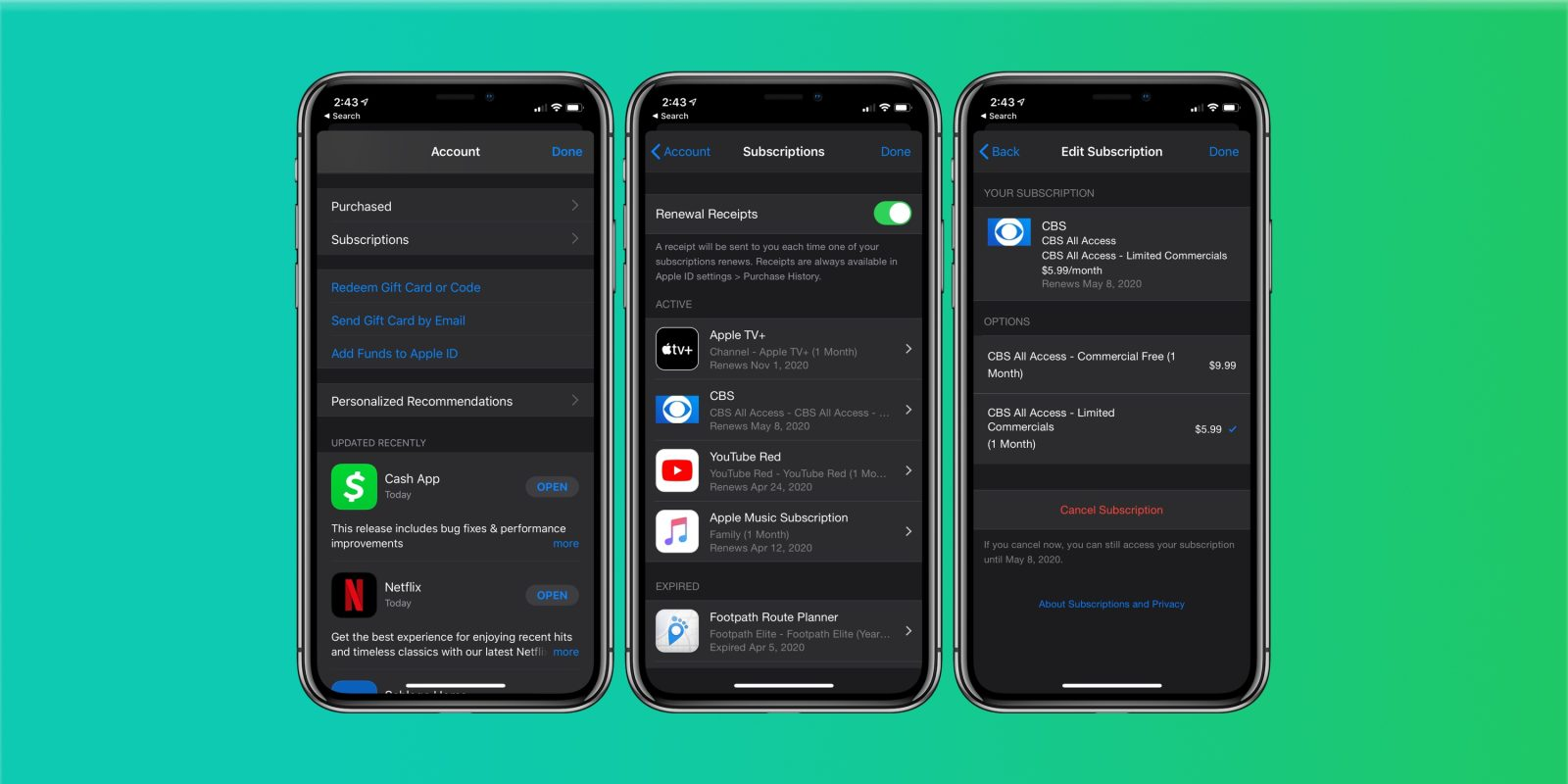 How to Manage Apple Subscriptions on an iPhone