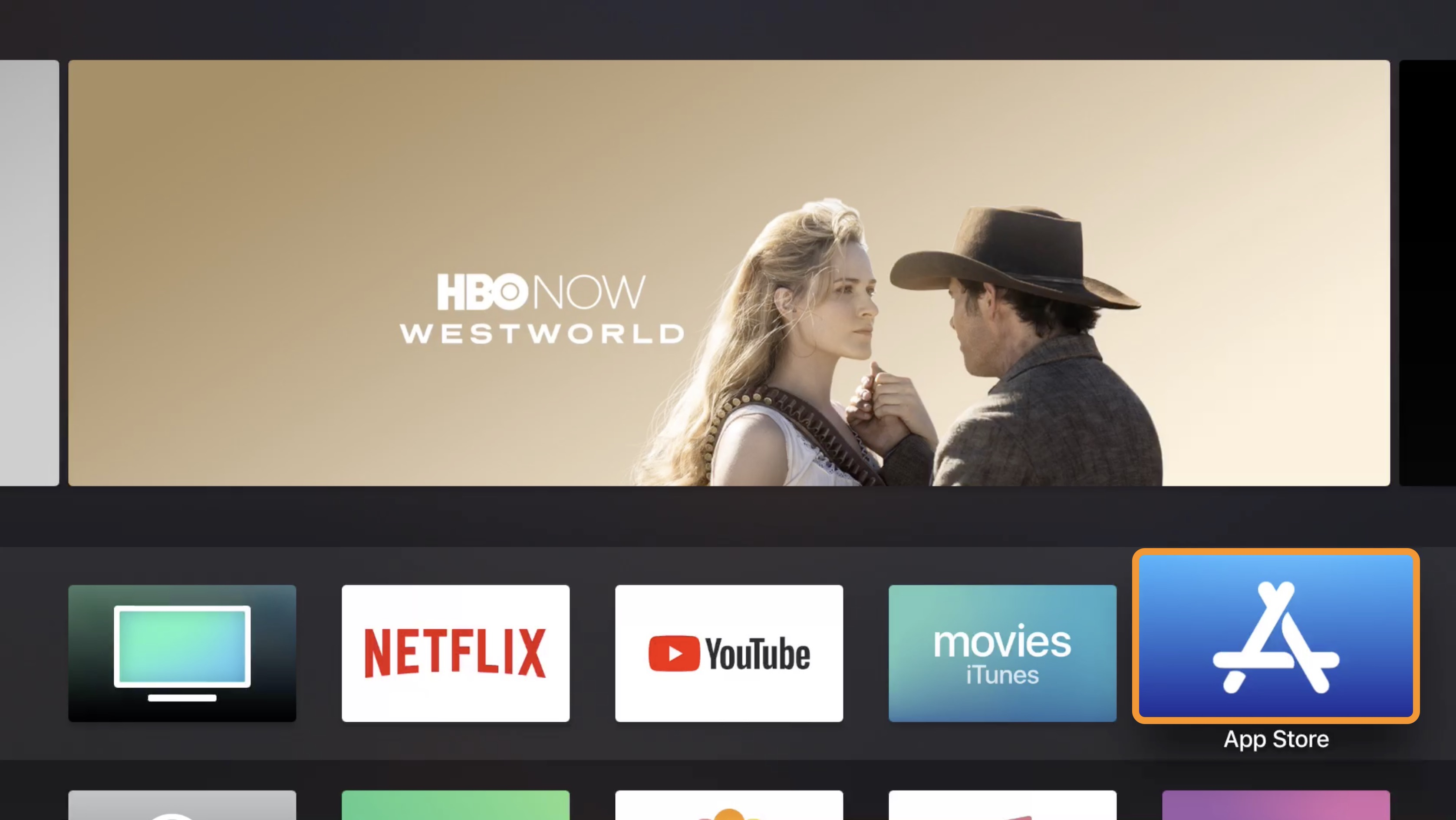 How to download netflix app on apple tv