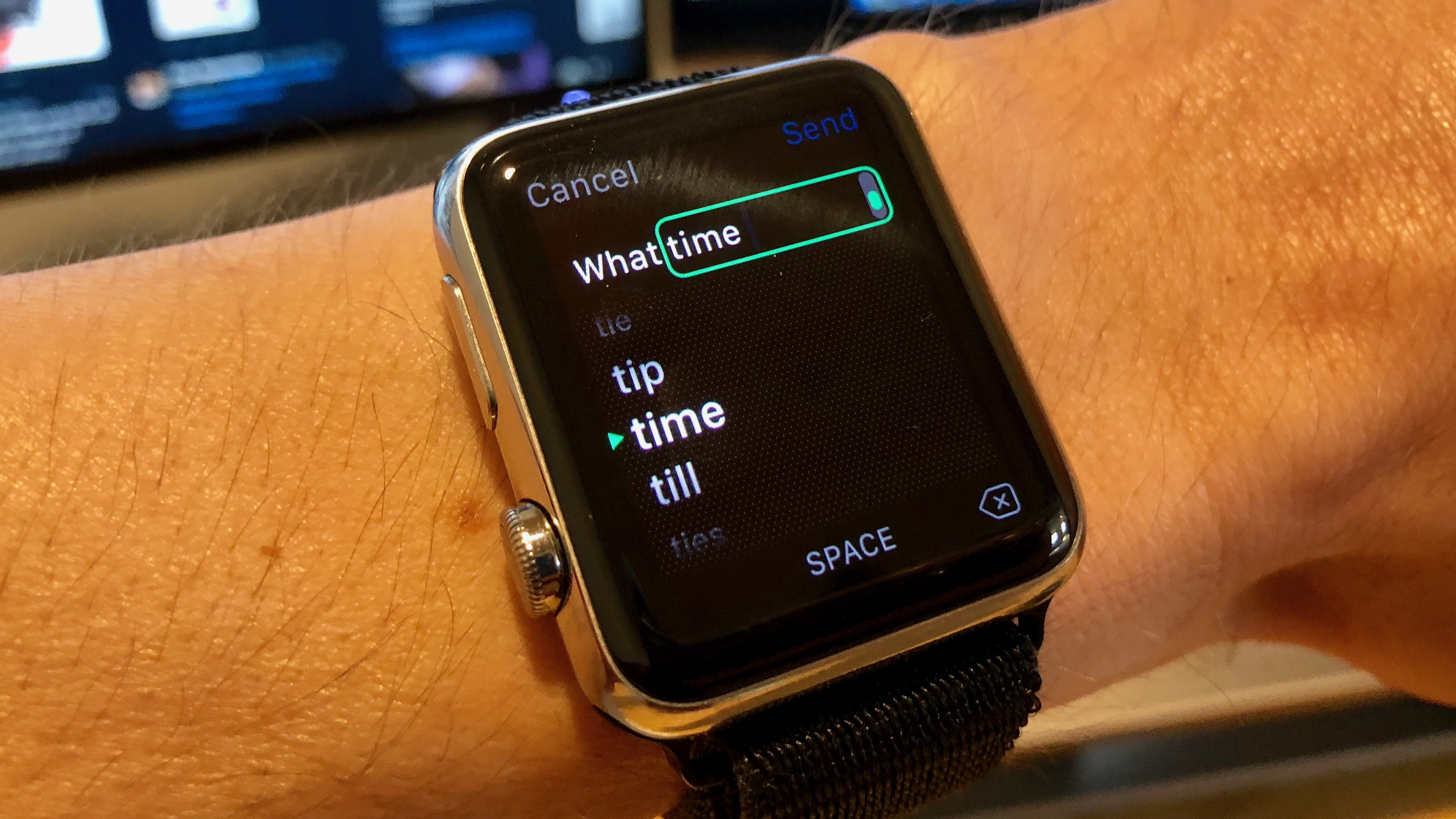How to use Scribble on Apple Watch to text without voice