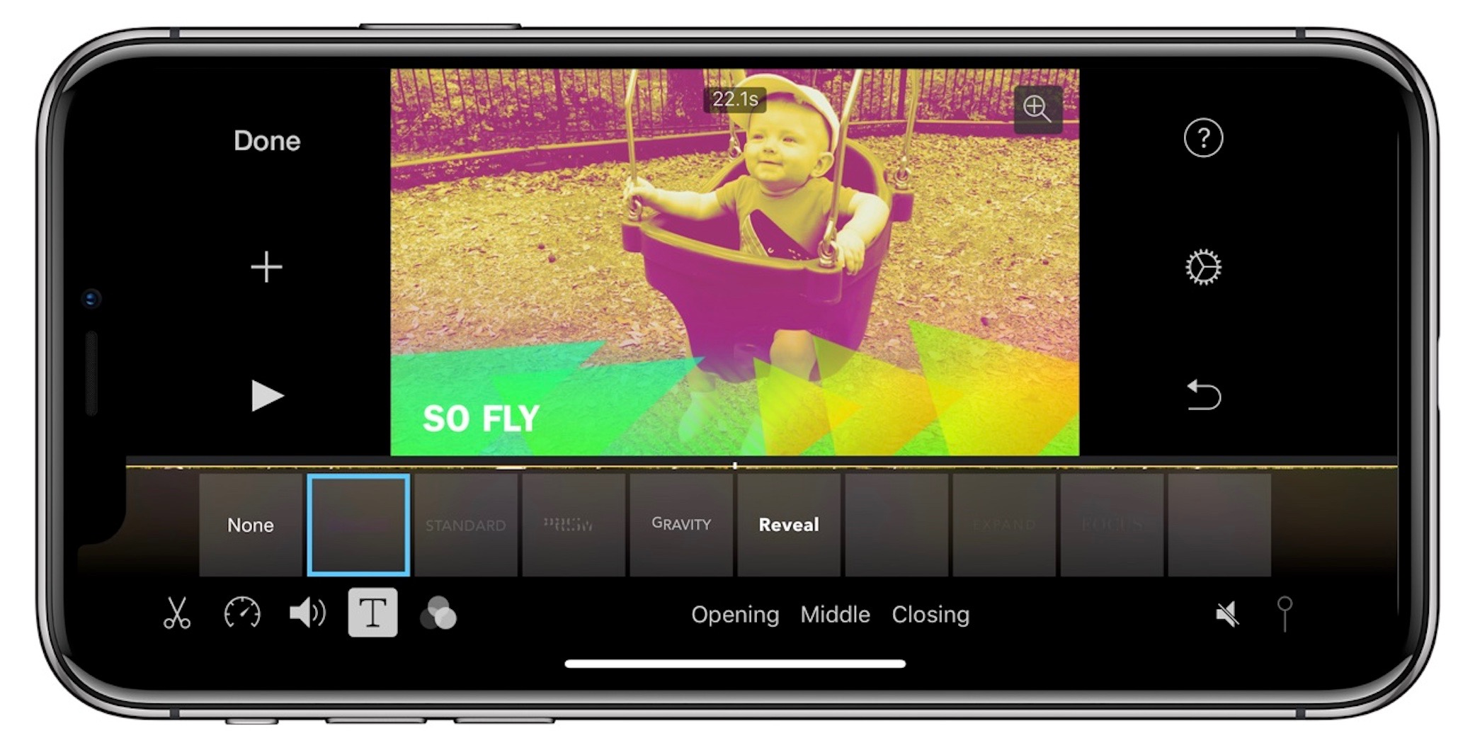 iMovie for iOS updated for iPhone X, now uses Metal for graphics processing