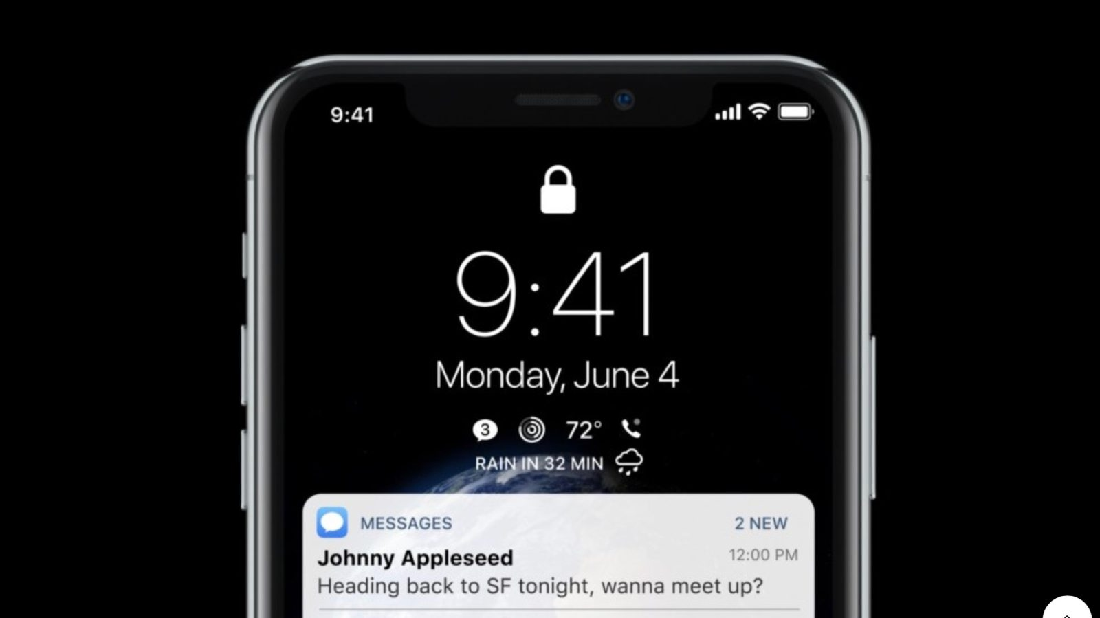 Ios 12 Concept Shows Off Always On Display Lock Screen Complications Dark Mode And More Video 9to5mac