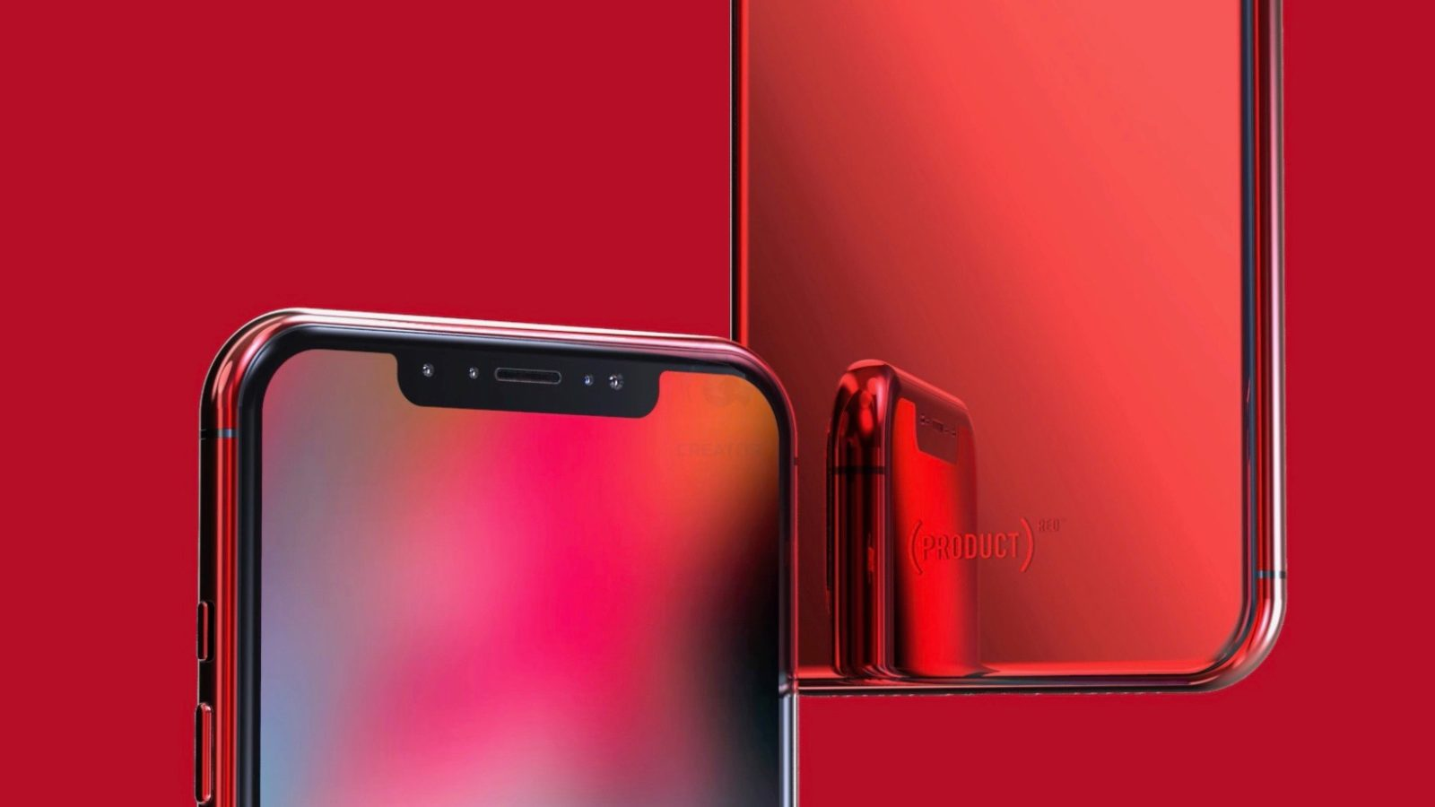 hot sale online d8781 9883c Concept imagines (PRODUCT)RED iPhone X & iPhone X Plus [Video] - 9to5Mac