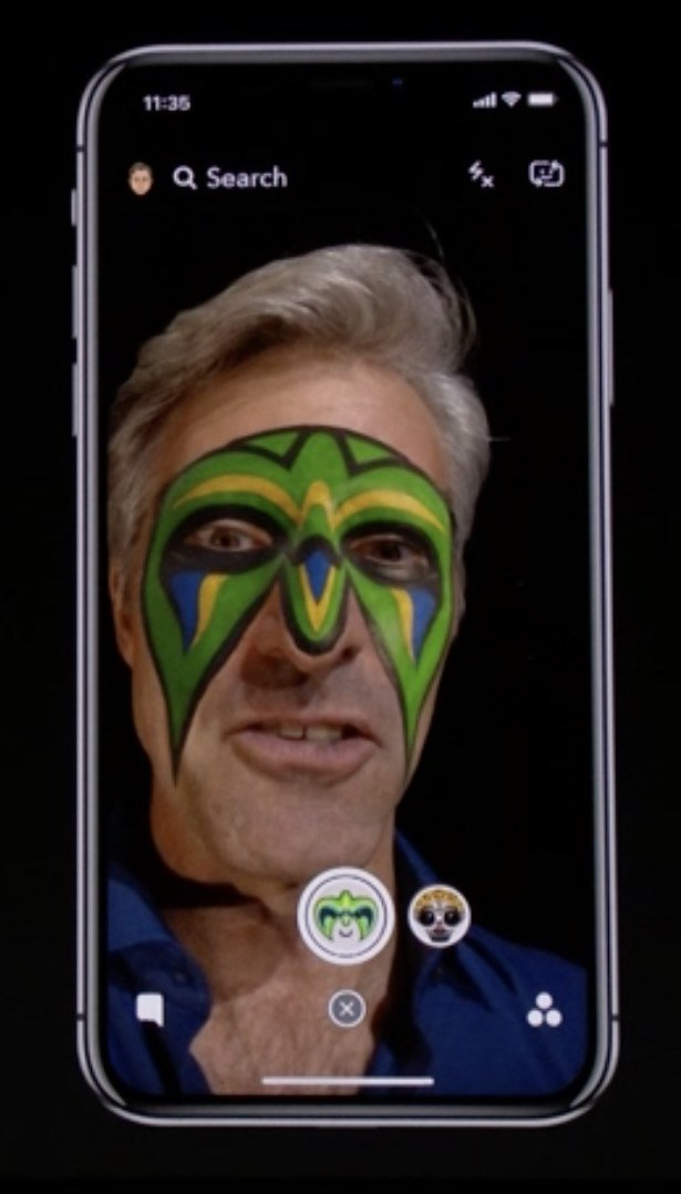 Snapchat launches exclusive face filters for iPhone X that